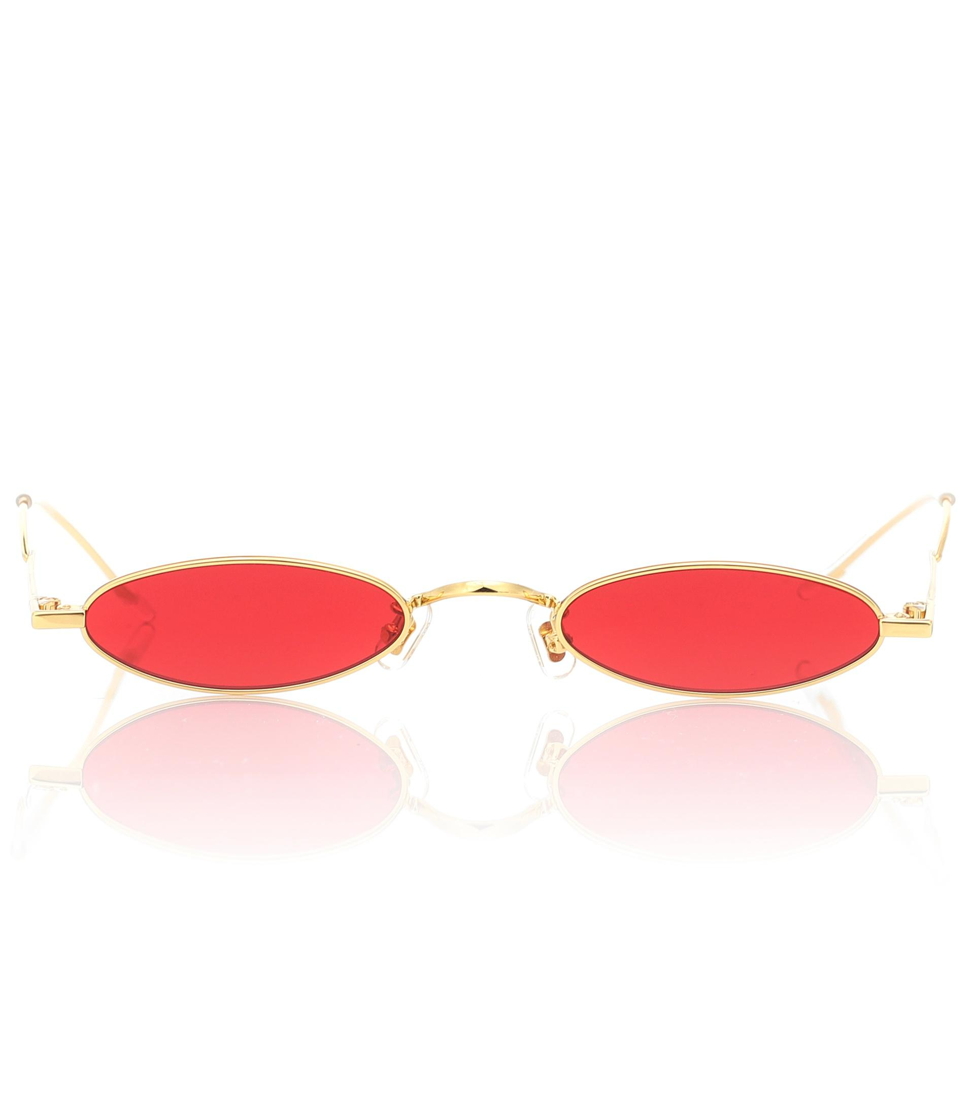 875fa04cae9 Gentle Monster Vector 03 Oval Sunglasses in Red - Lyst