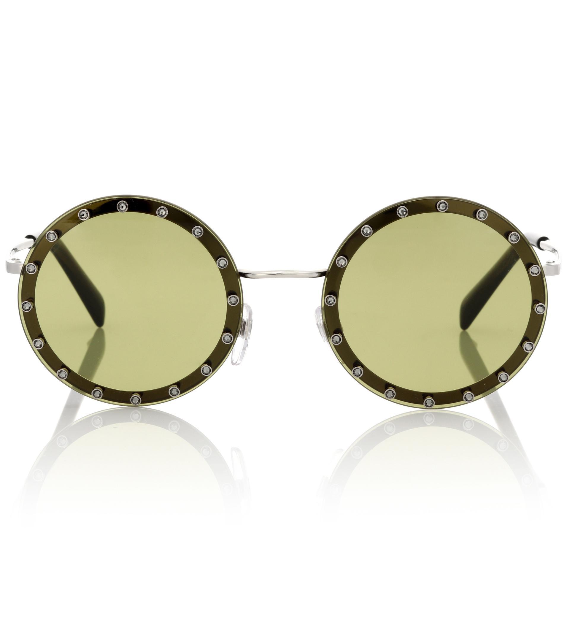Garavani round sunglasses Valentino pnYh7GargN