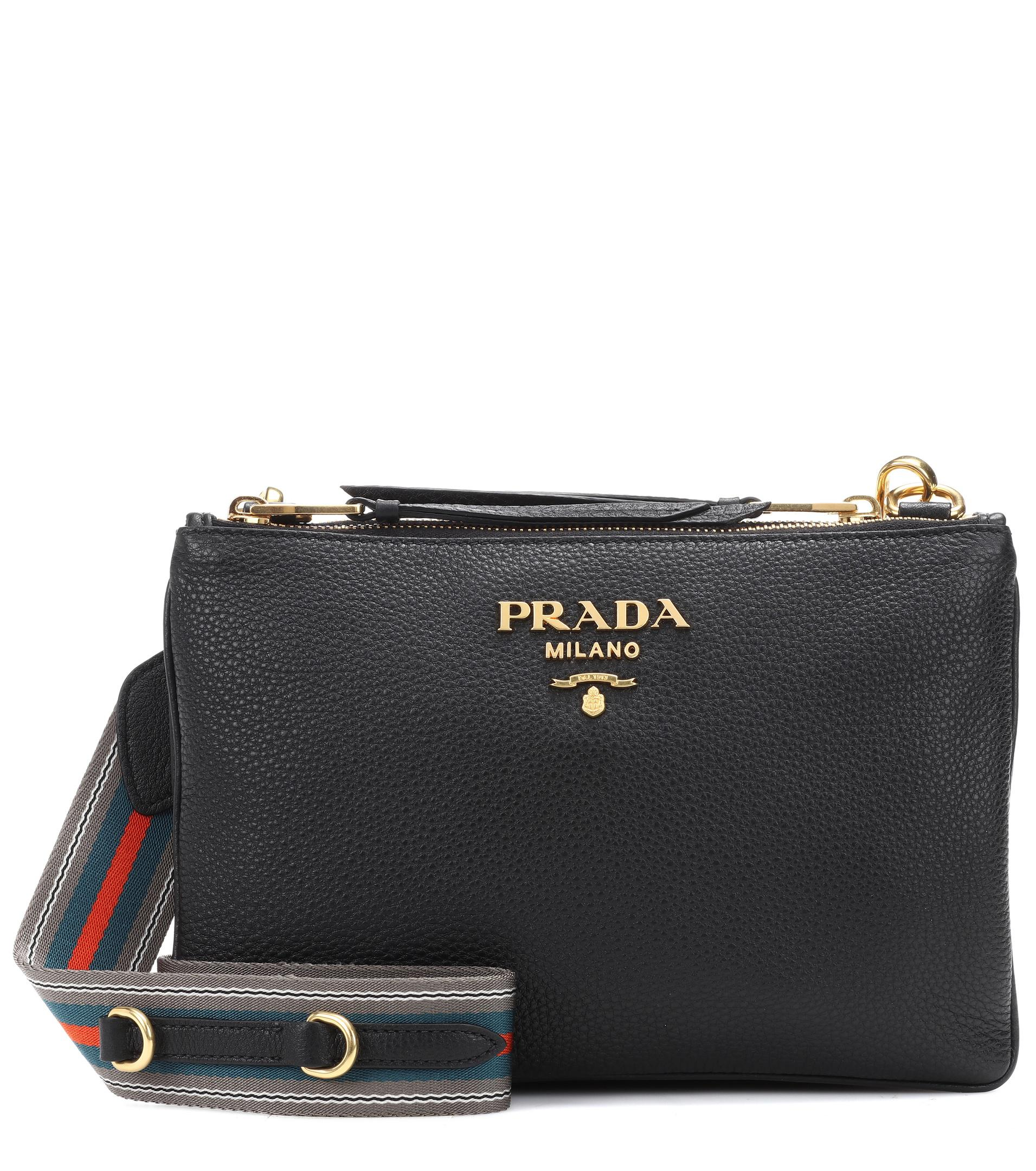 Prada Daino Small Leather Shoulder Bag 72fEzeP