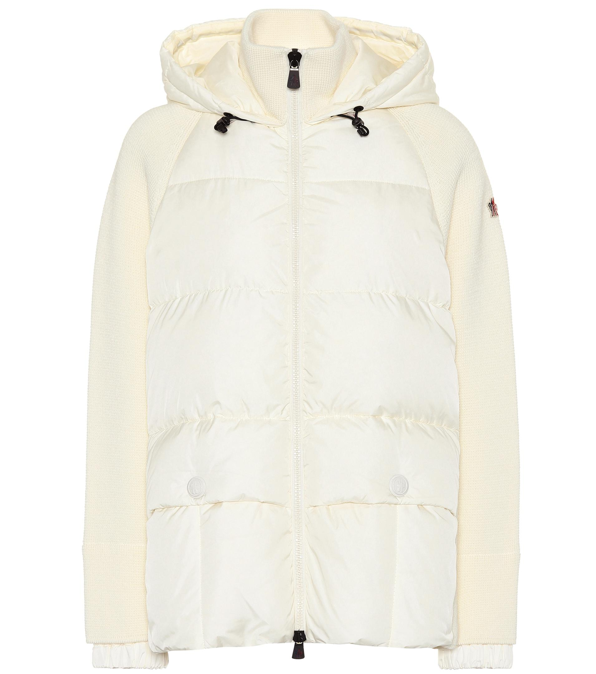 d250a2343 Lyst - Moncler Grenoble Down Ski Jacket in White