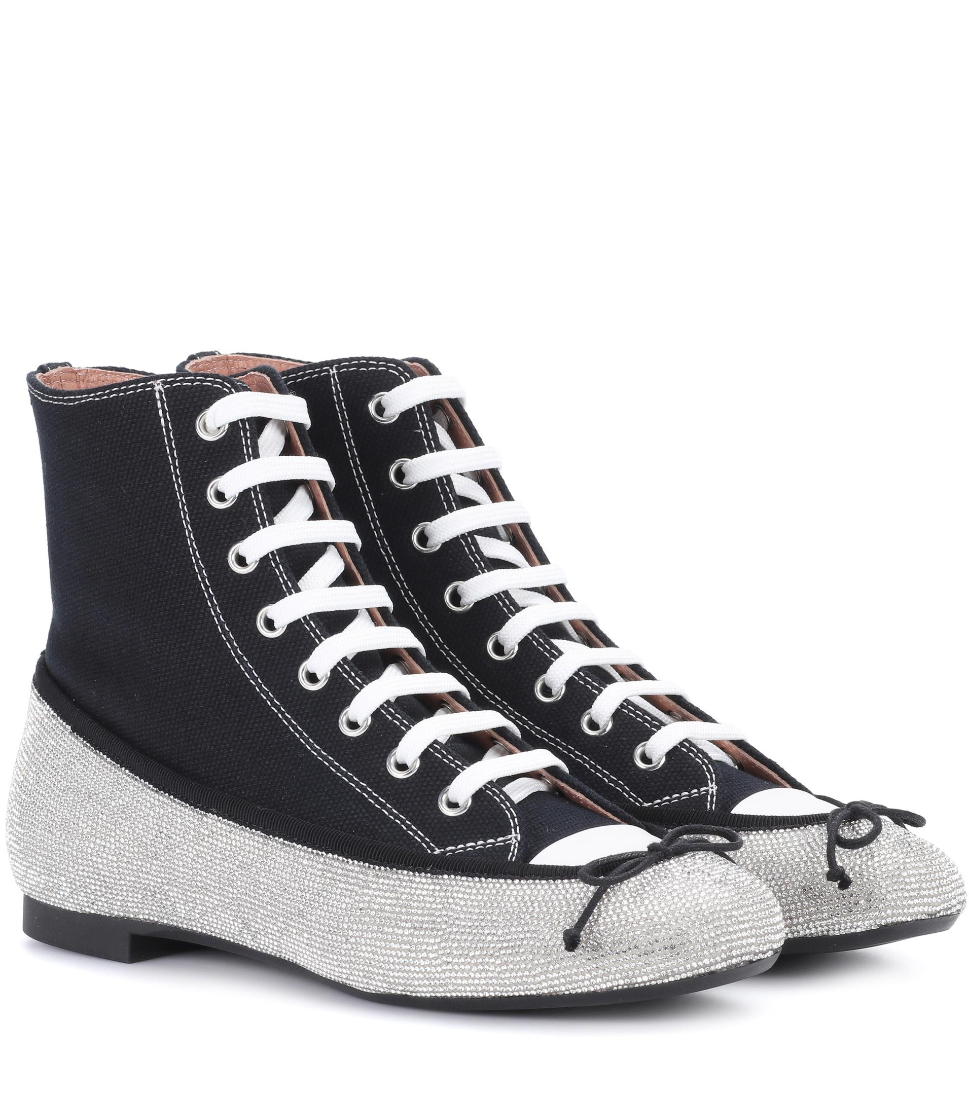 MARCO DE VINCENZO Embellished sneakers 1Bxq16cc