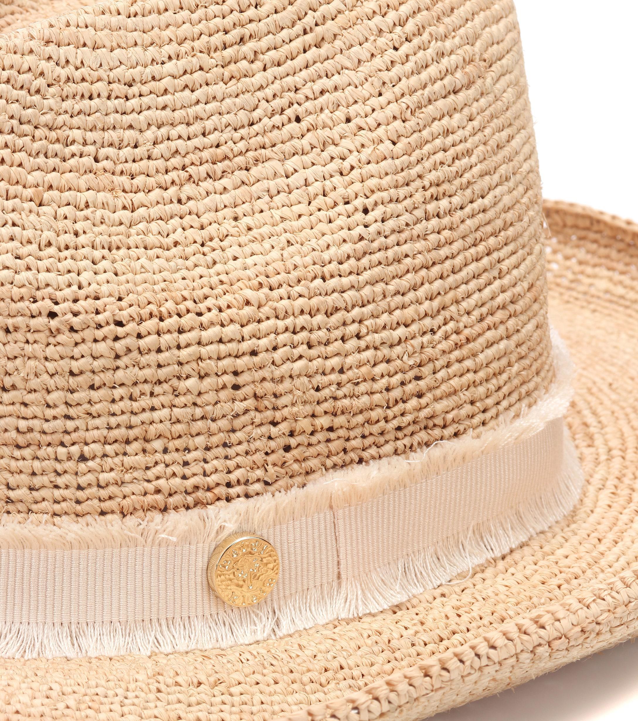 Lyst - Heidi Klein Cape Elizabeth Raffia Cowboy Hat in Natural adda62783c6e