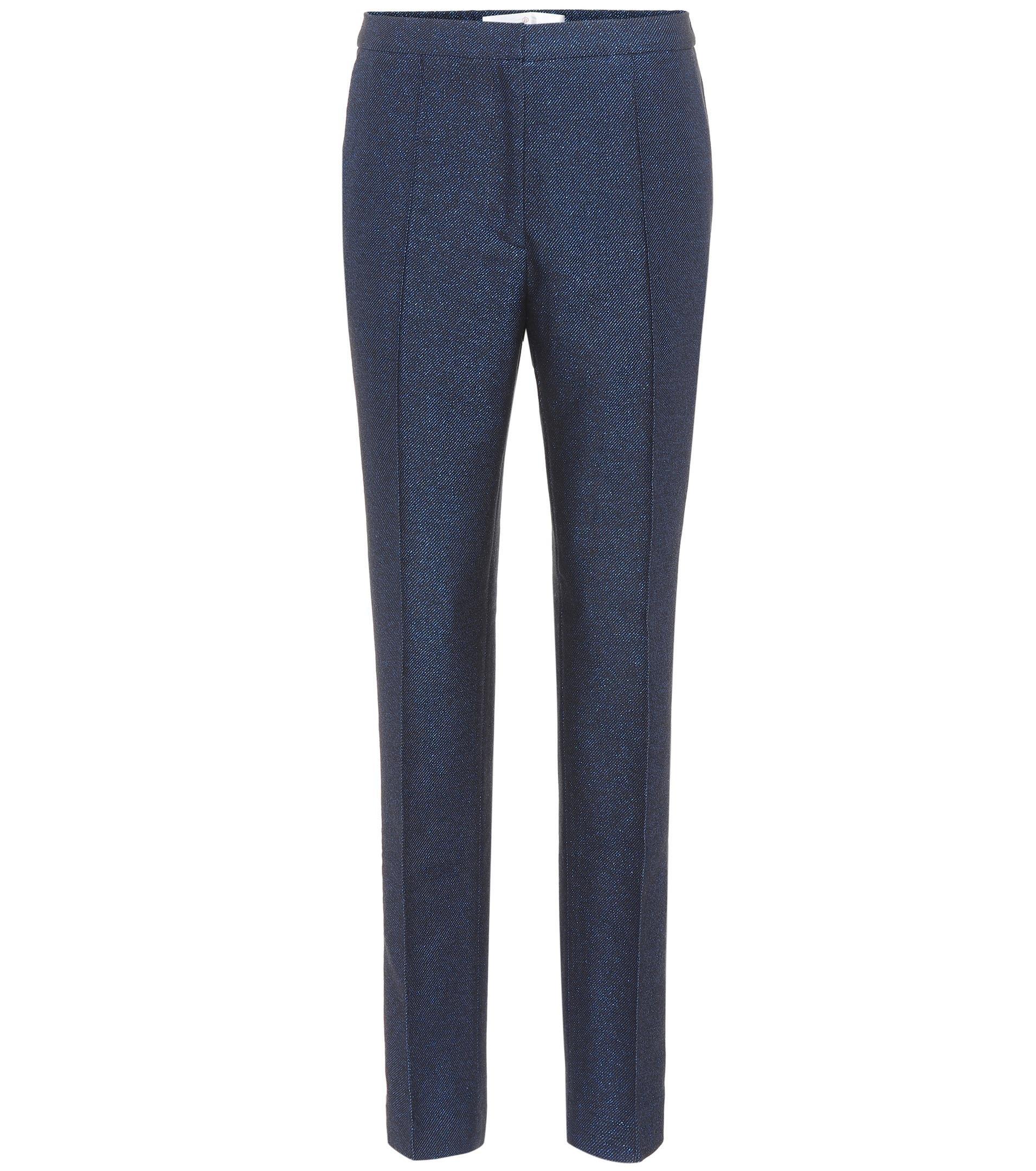 Armida metallic slim-fit trousers Golden Goose PSDtYDo
