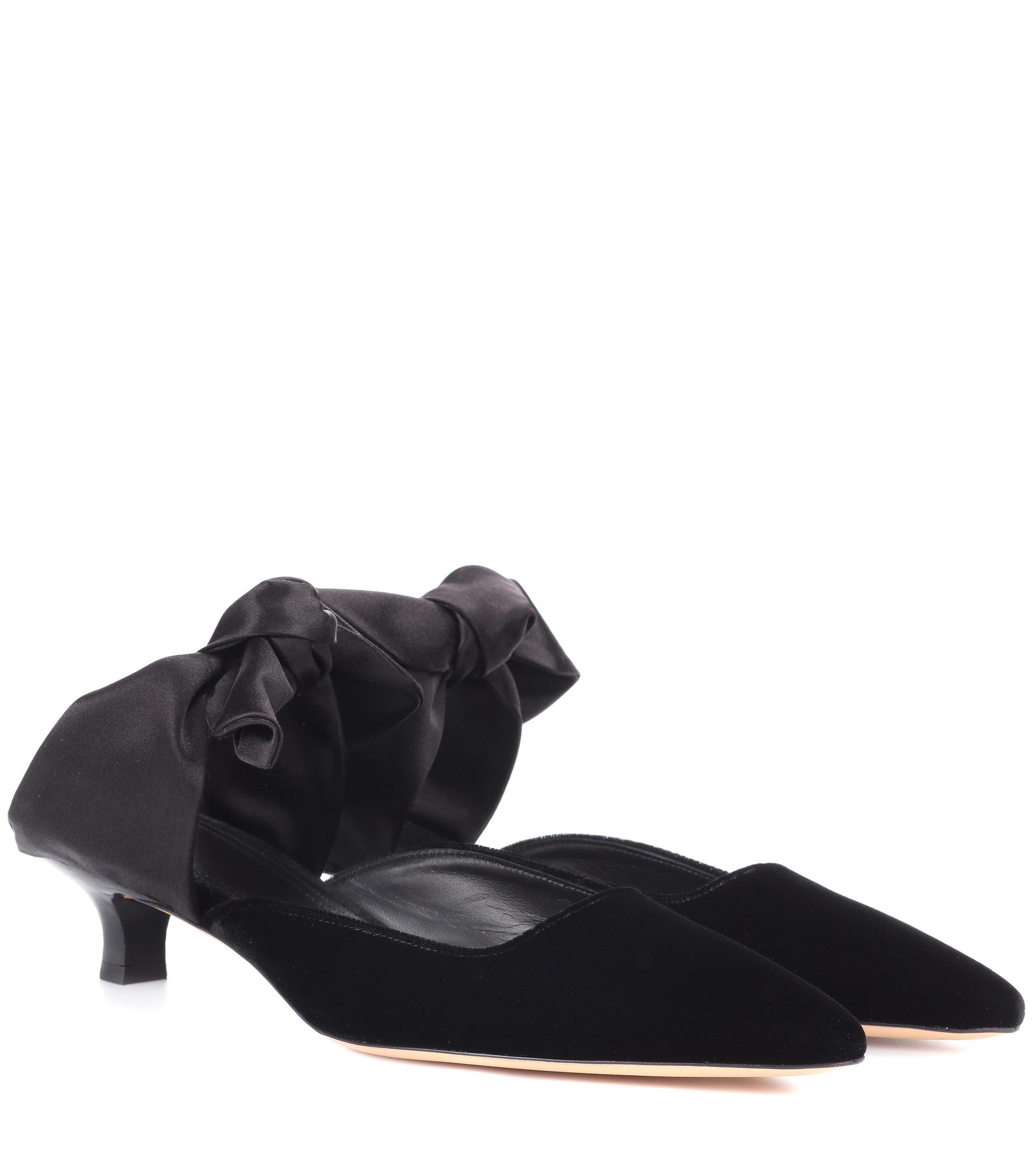 Womens Coco Velvet Mules The Row 8hjbd