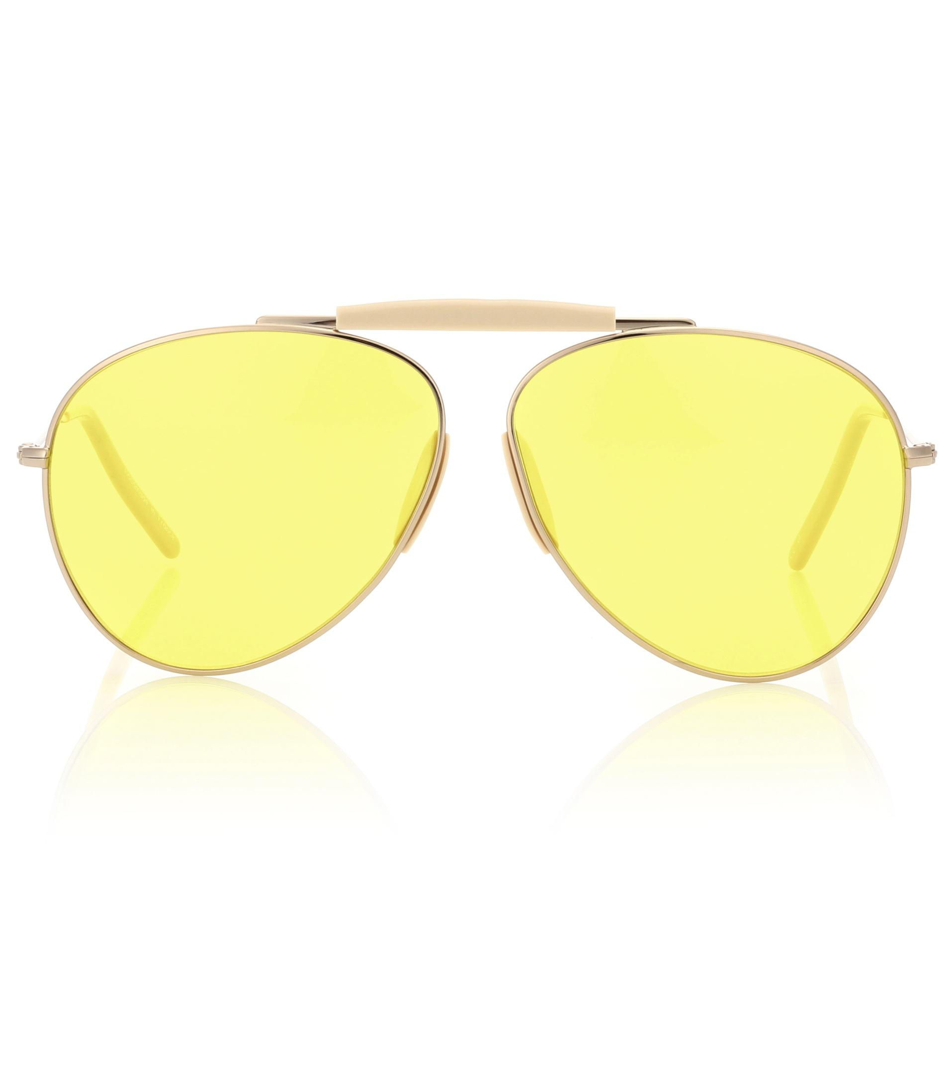Acne In Sunglasses Studios Howard Yellow Lyst rqaYZRw