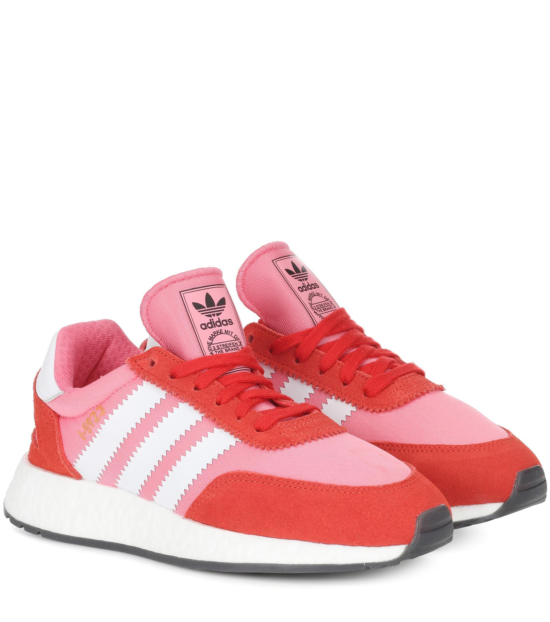 8fd1ed42b Lyst - adidas Originals Iniki Runner Sneakers in Pink