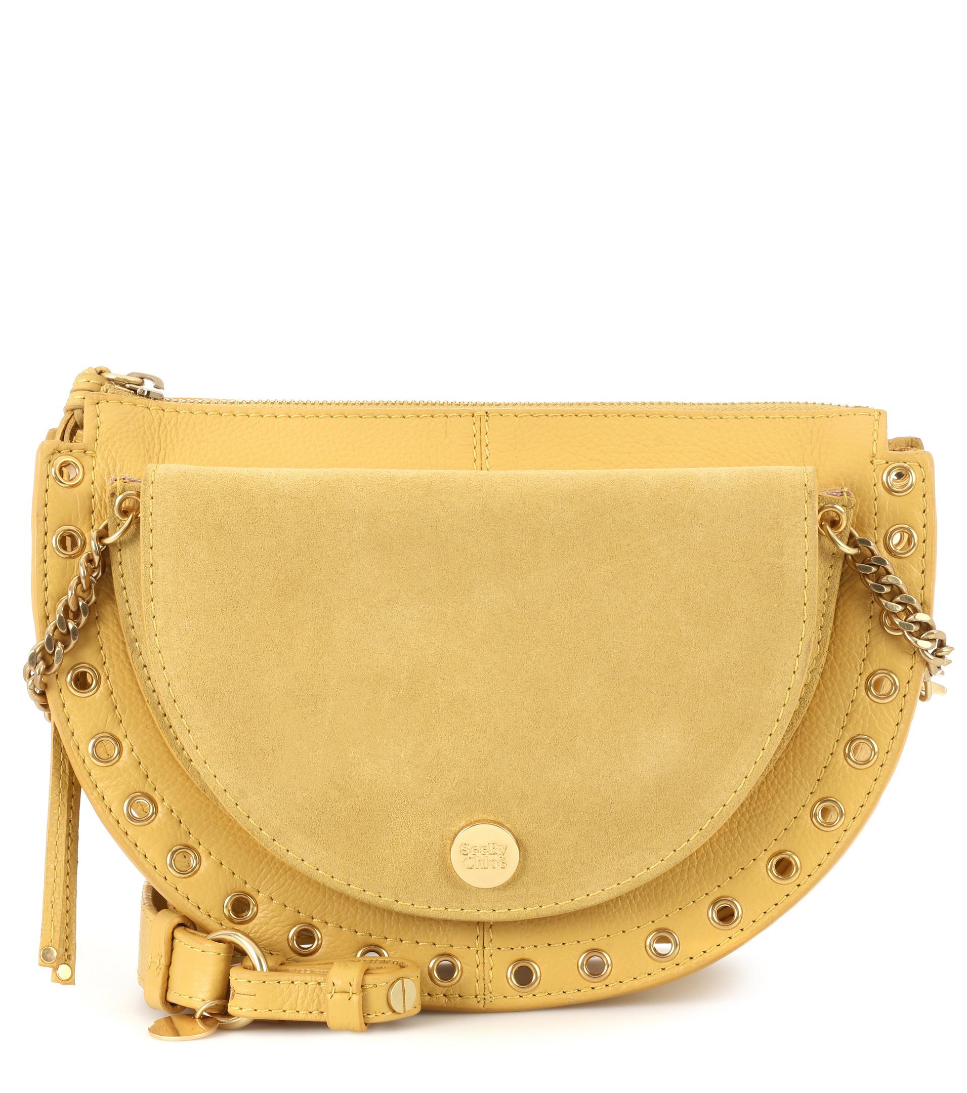 Yellow Kriss medium crossover bag See By Chlo W3gcBdW