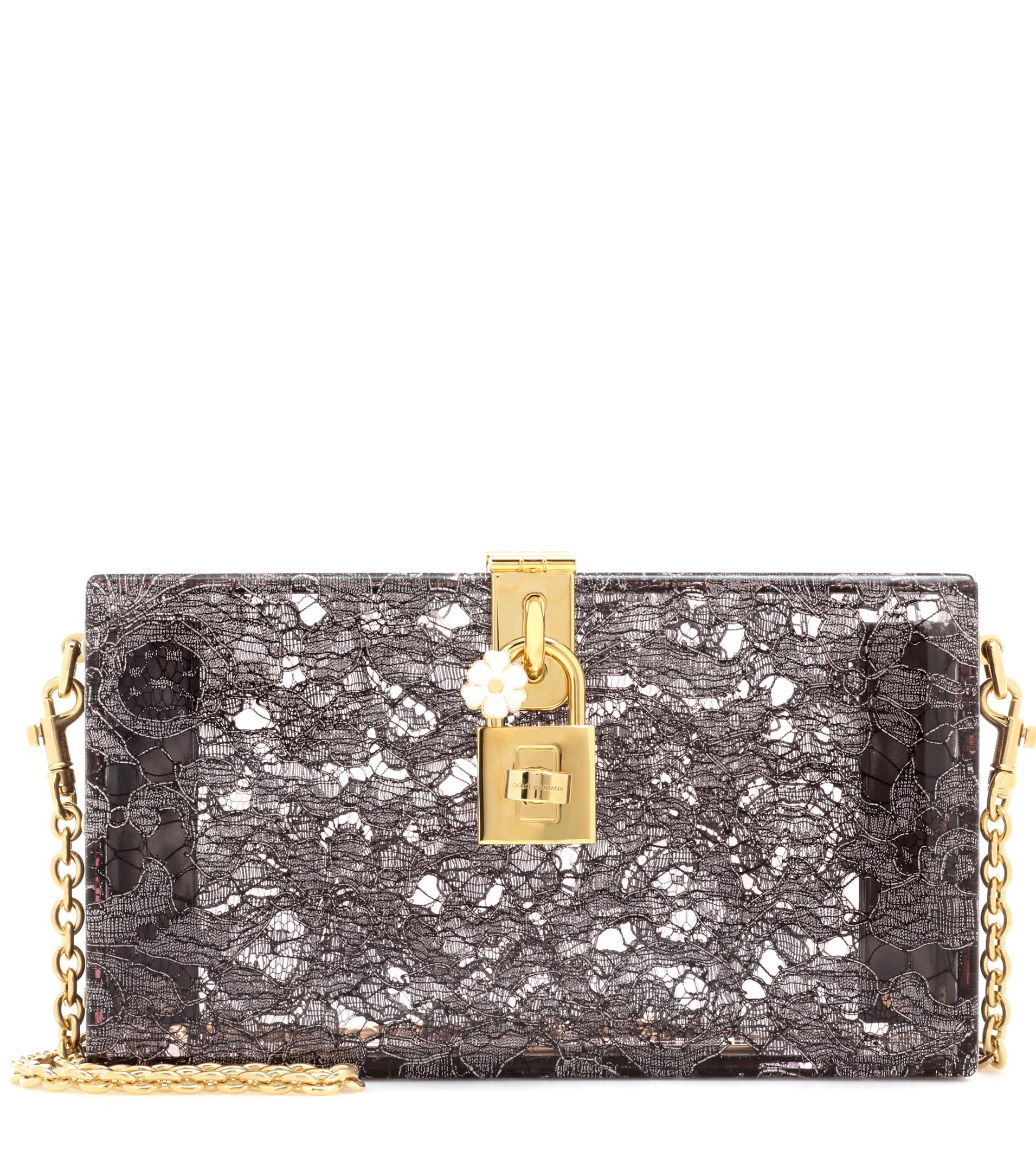 Lyst - Minaudière à ornements Dolce Box Dolce   Gabbana en coloris Noir 325240de80a