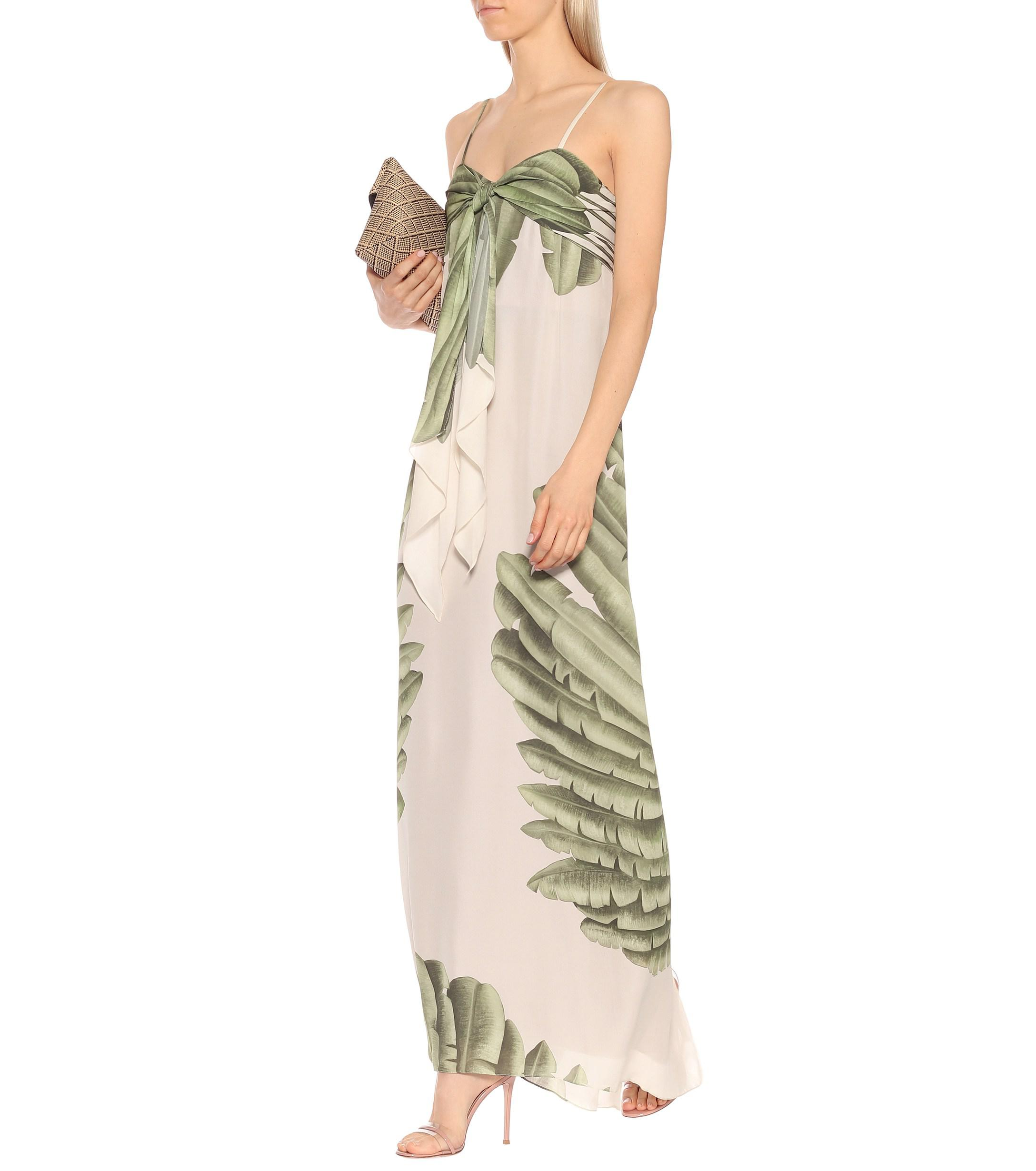 bb9319de141 Johanna Ortiz - Multicolor Palm Tree Print Maxi Dress - Lyst. View  fullscreen