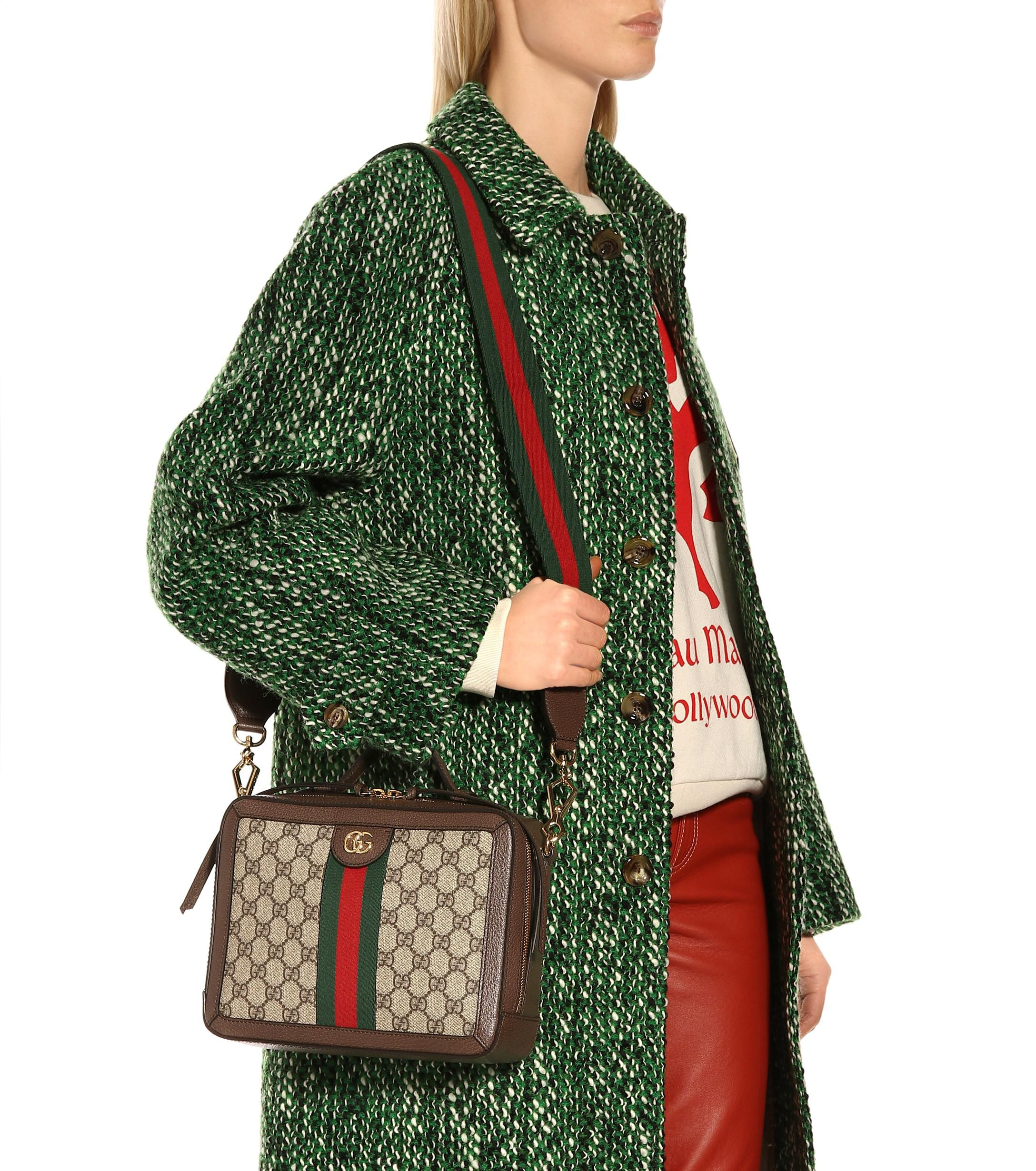 bc5fac5767 Gucci - Multicolor Ophidia Small GG Supreme Shoulder Bag - Lyst. View  fullscreen