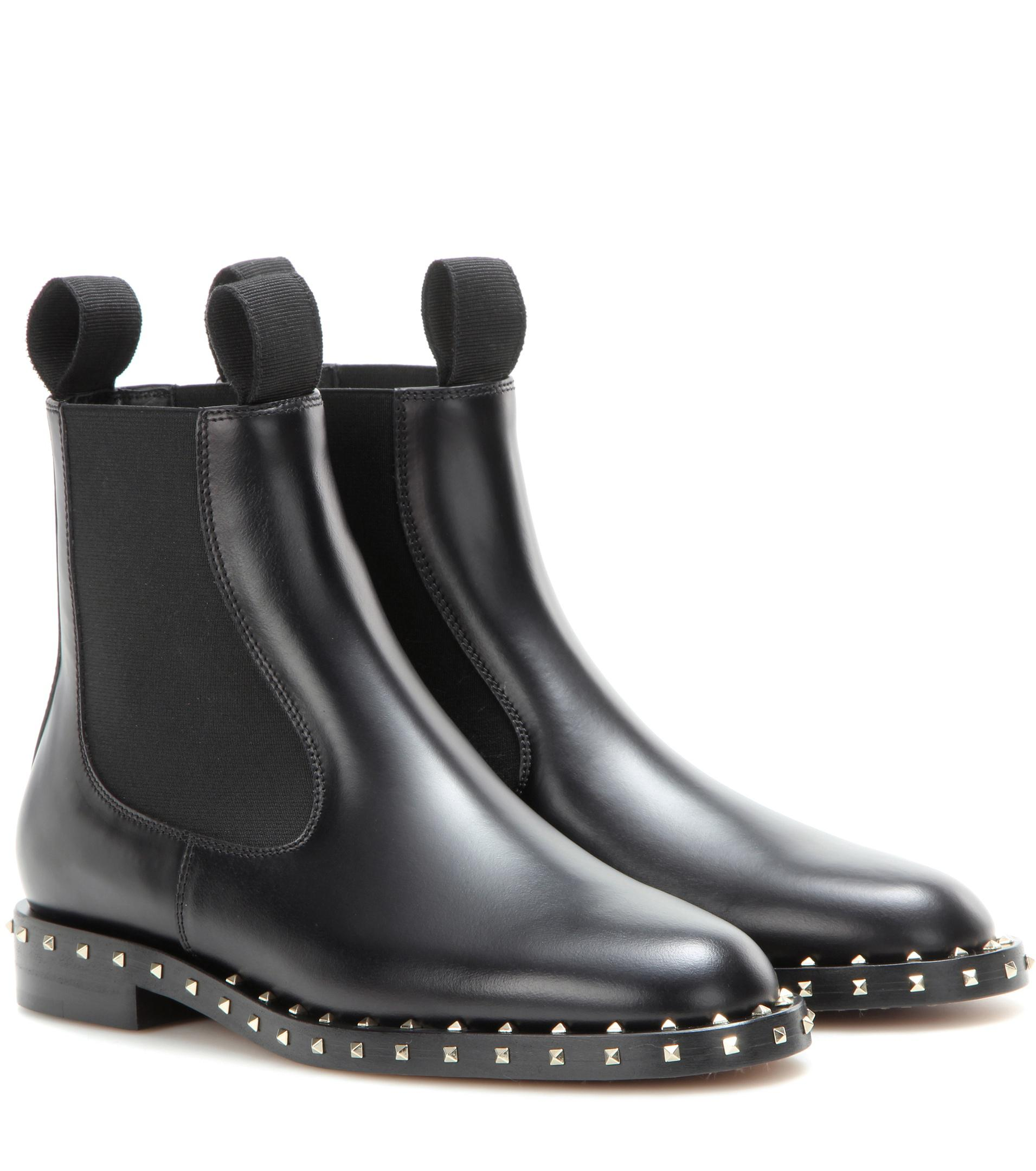 free shipping looking for Valentino Garavani Valentino Garavani Embellished Chelsea boots cheap price store wiki cheap price big sale cheap price q97050Gt