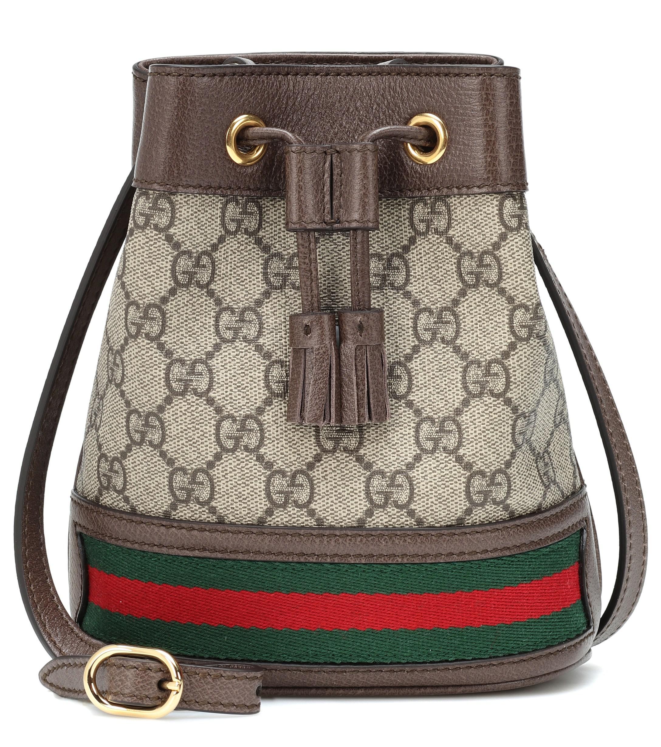 51d693a49a1f Gucci Ophidia GG Mini Bucket Bag - Save 21% - Lyst