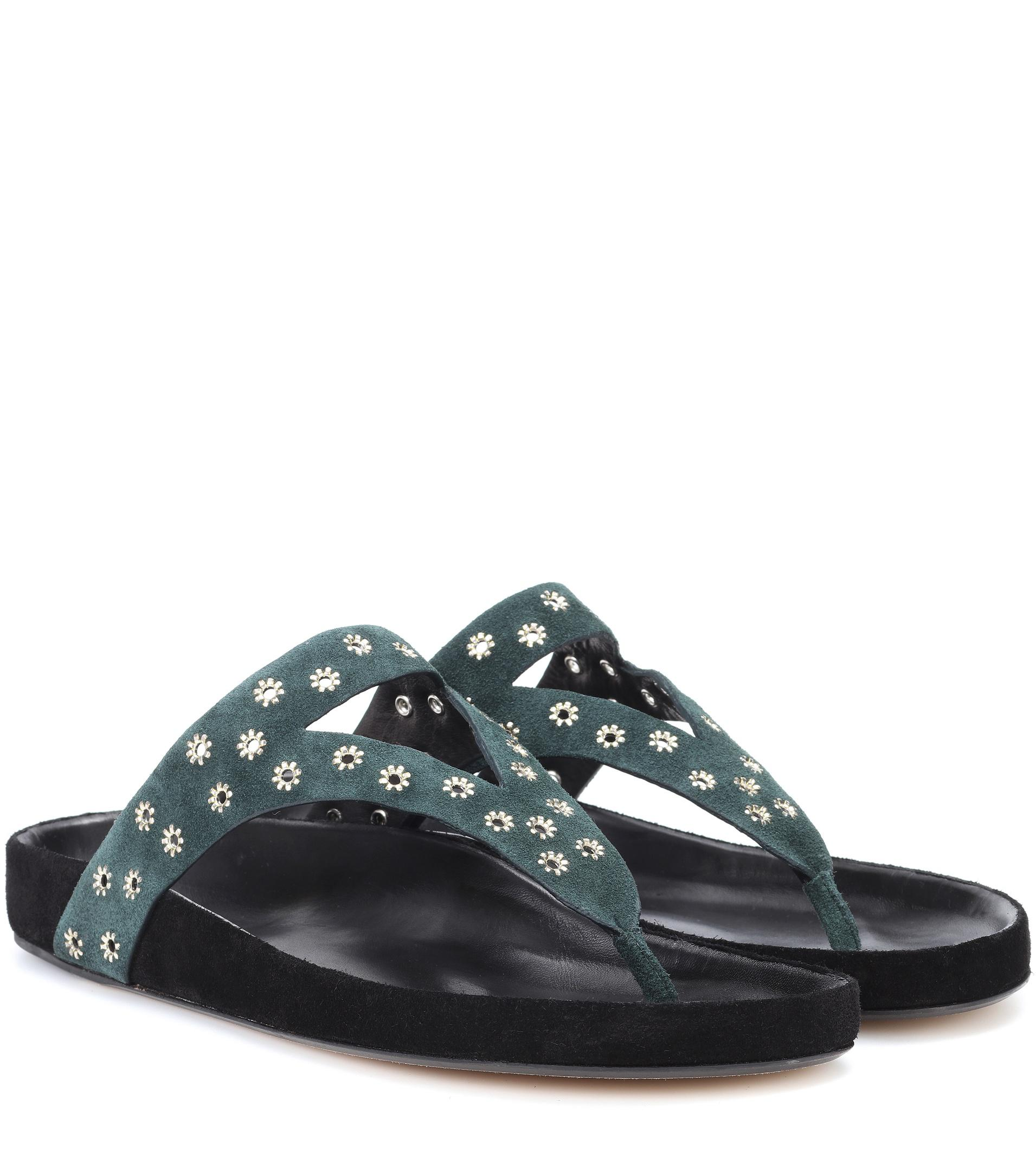 Elbry suede sandals Isabel Marant bNK1pOZSrQ