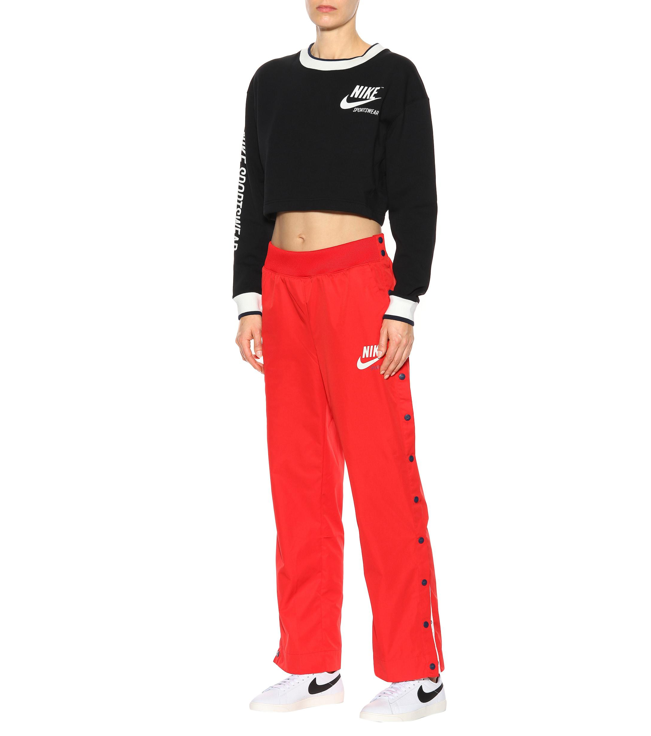 meet b1ff8 9e7dd Coloris Nike Pantalon Survêtement De En Snap Rouge Lyst xgqapw