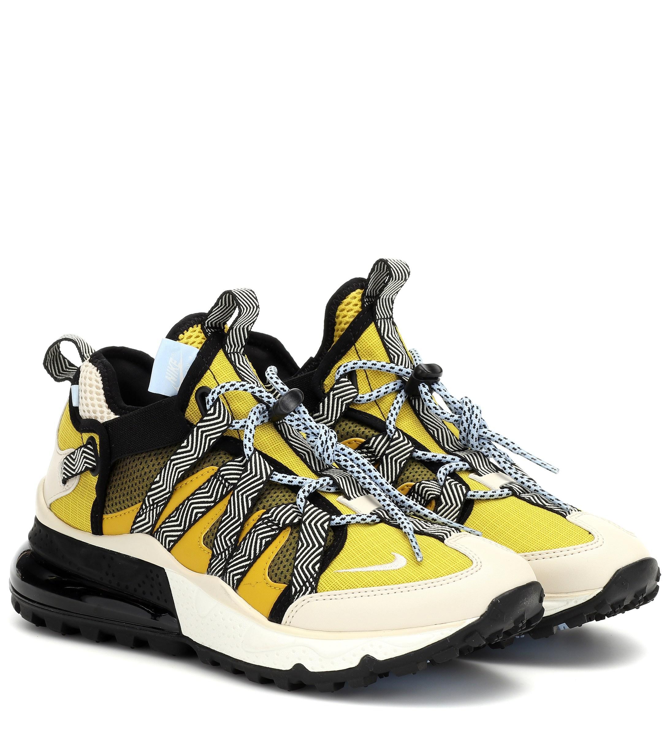 98689241d2 Nike Air Max 270 Bowfin Sneakers Dark Citron/light Cream - Lyst