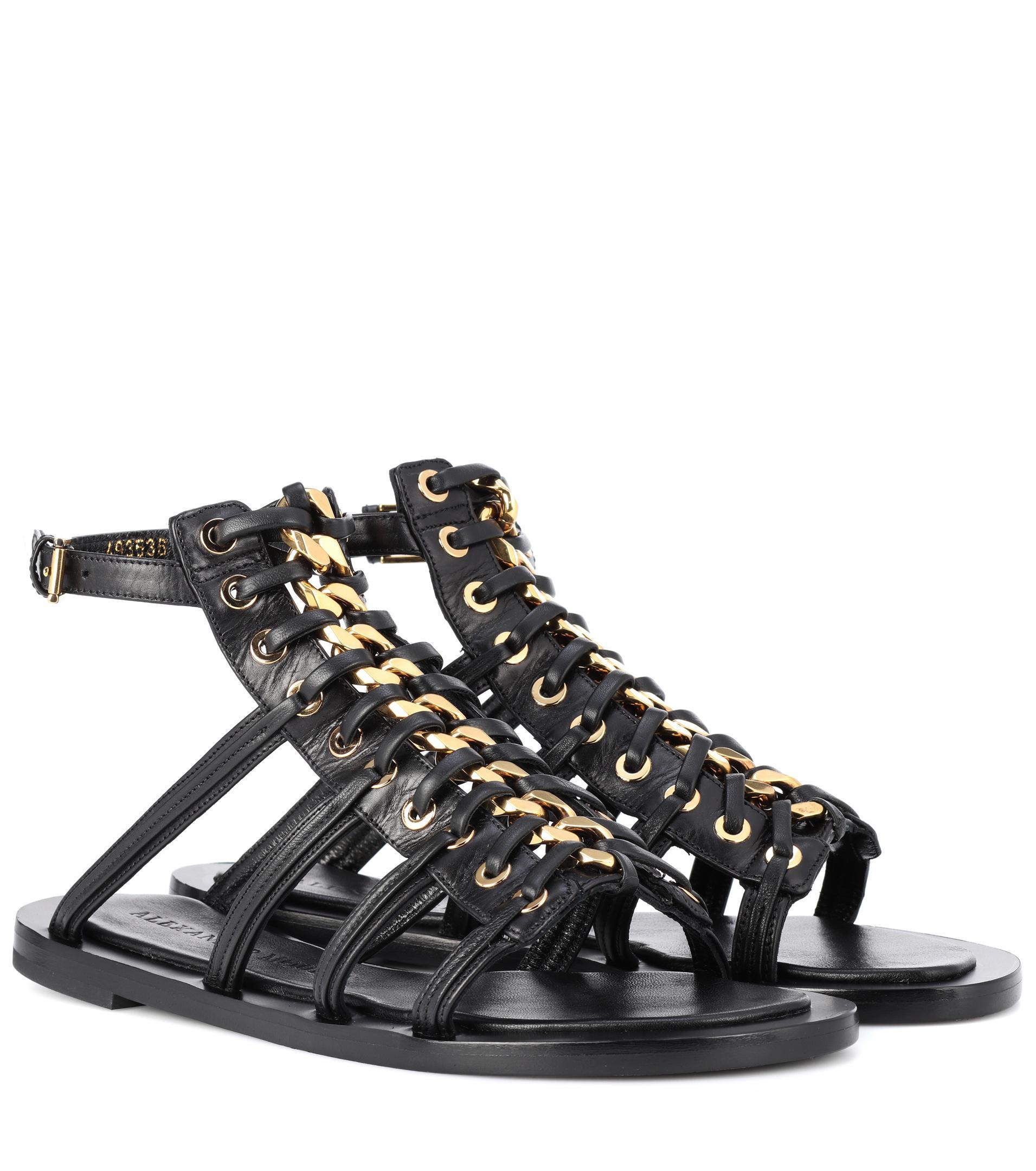 Alexander McQueen Sandals nappa leather Gem RCAvU9