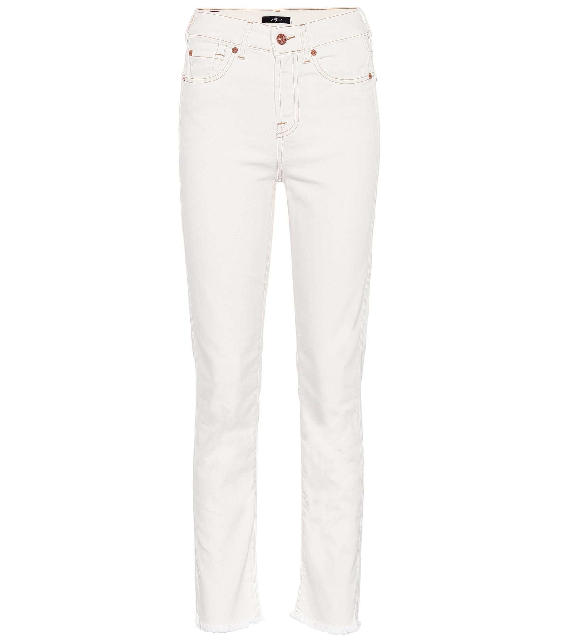 Discount Low Shipping Fee Outlet Discount Erin straight-leg jeans 7 For All Mankind Cheapest Price Online vNTRg9
