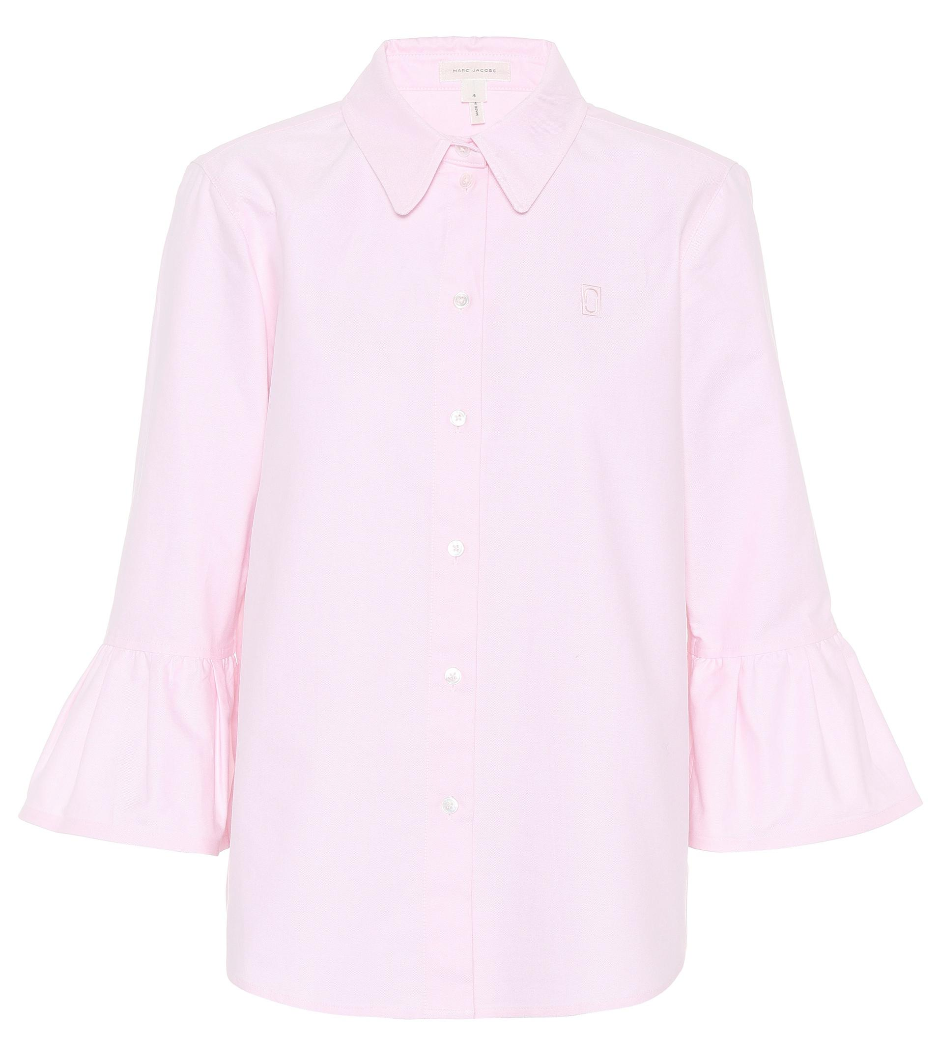 d420ca30741c98 Marc Jacobs - Pink Cotton Shirt - Lyst. View fullscreen