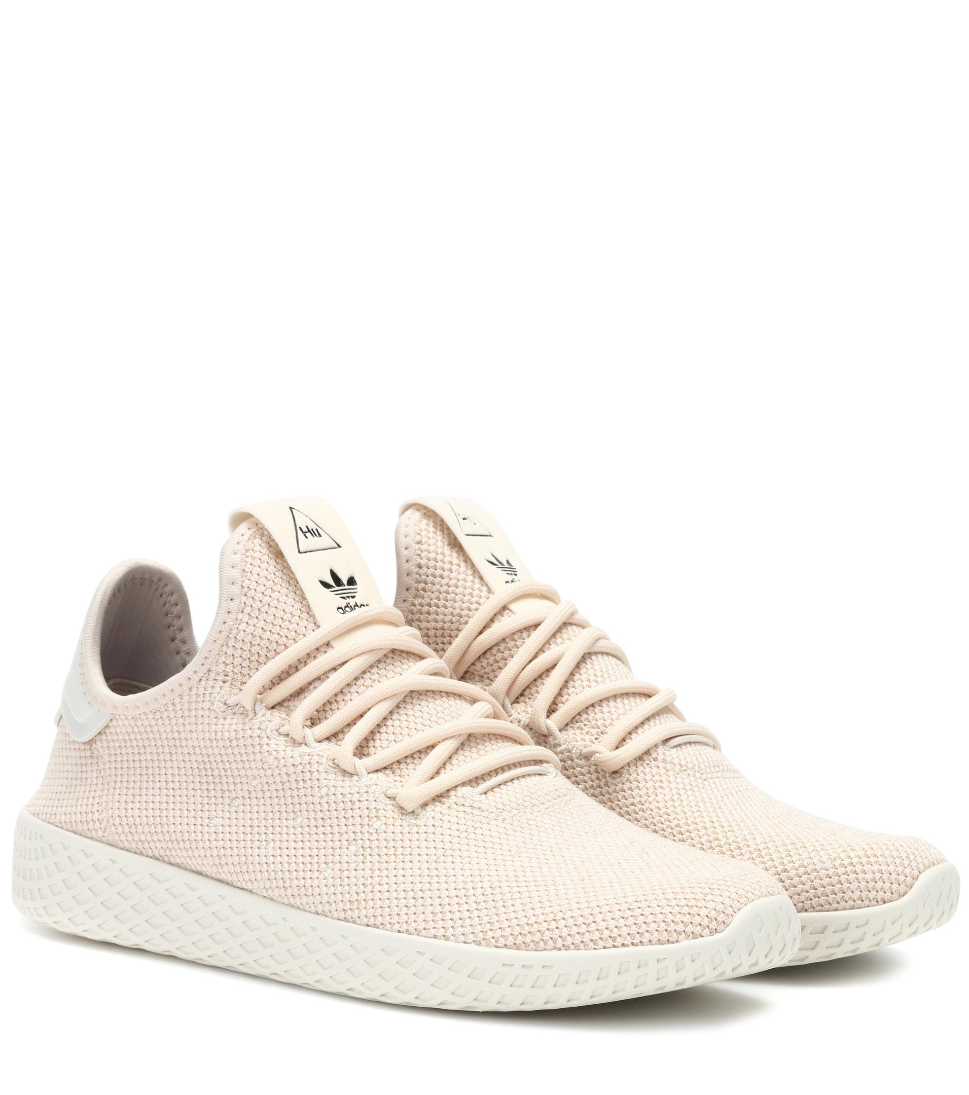 adidas Originals Pharrell Williams Tennis Hu Sneakers in Pink - Lyst 59c4fa231d