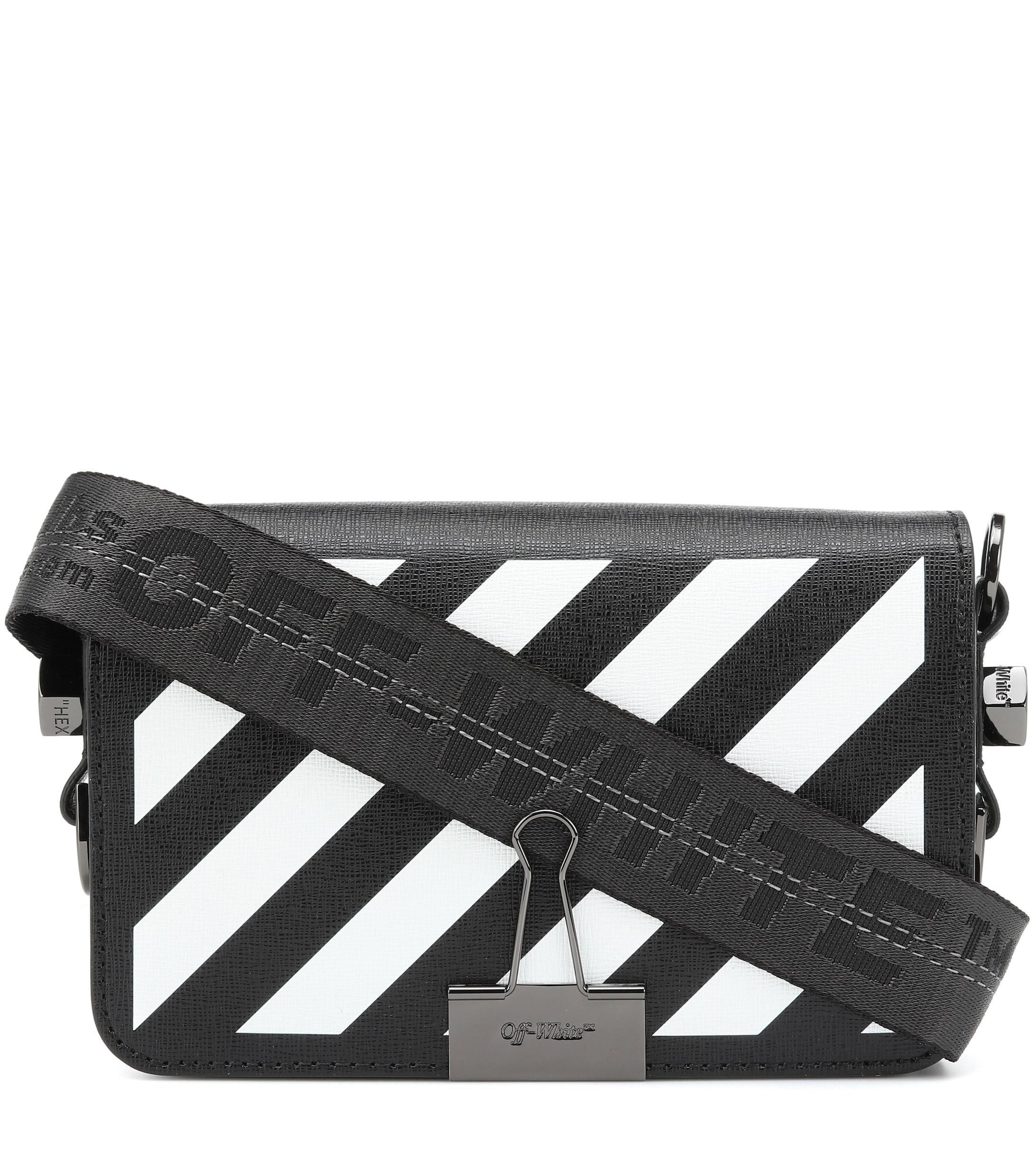 Off-White C/o Virgil Abloh Binder Clip Mini Shoulder Bag