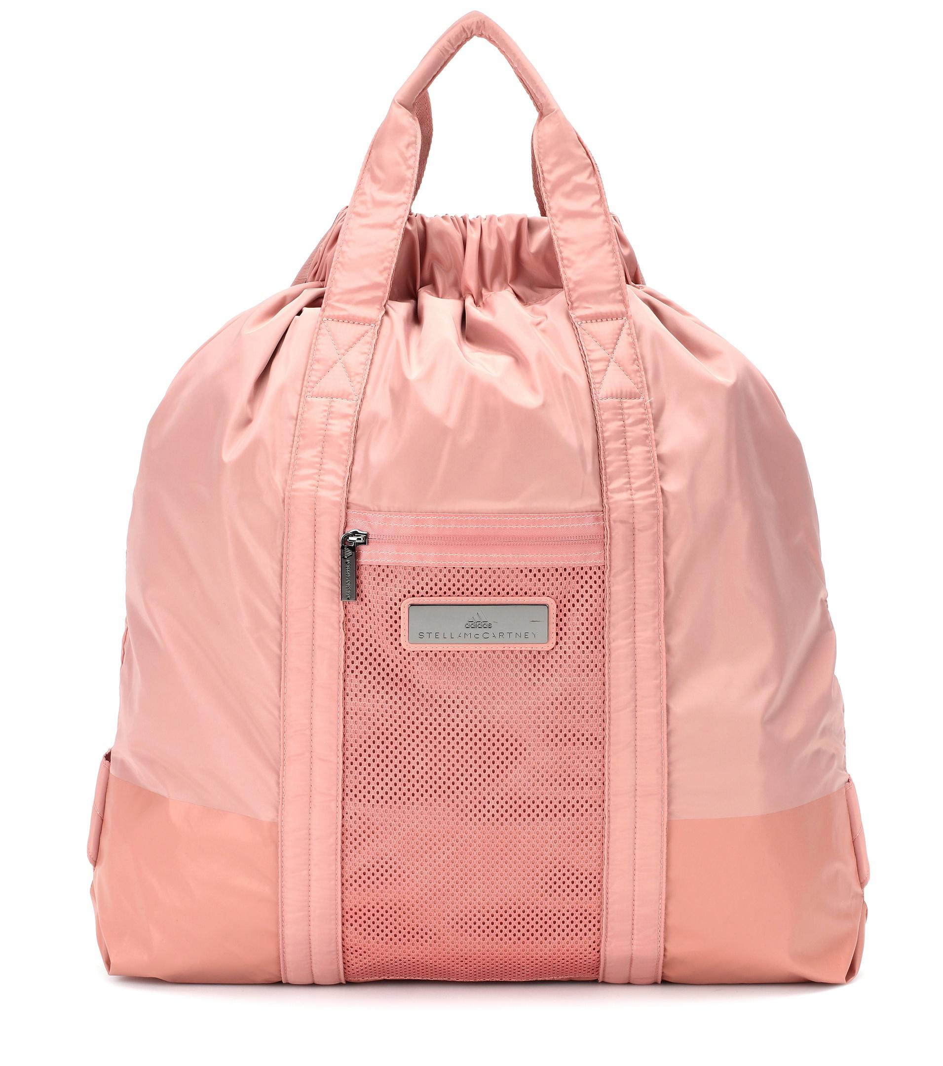 ce5ae3be6c Lyst - adidas By Stella McCartney Gym Bag in Pink