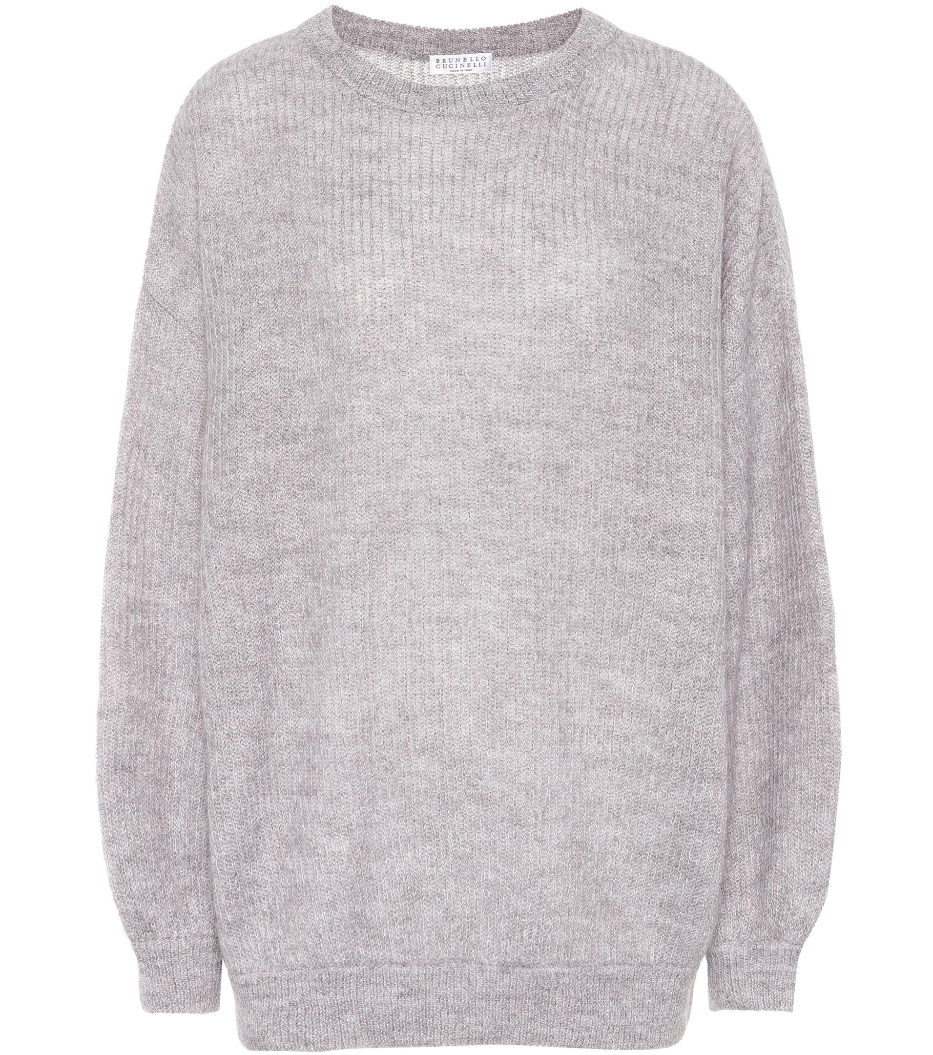 Mohair-blend metallic sweater Brunello Cucinelli 2018 Newest Sale Online Clearance Store Clearance With Mastercard Cheap Reliable New KoEOVJu9