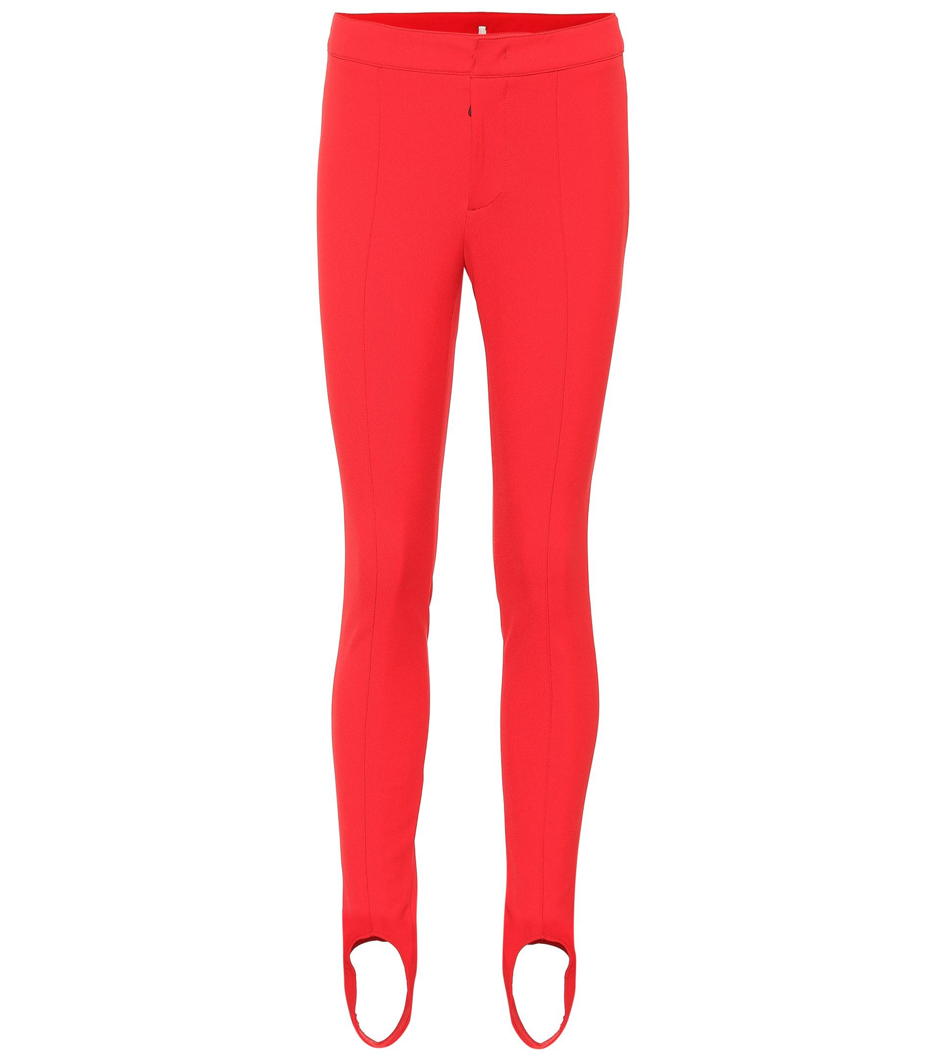 Moncler Grenoble Stirrup Ski Pants in Red - Lyst 8af5cddb9