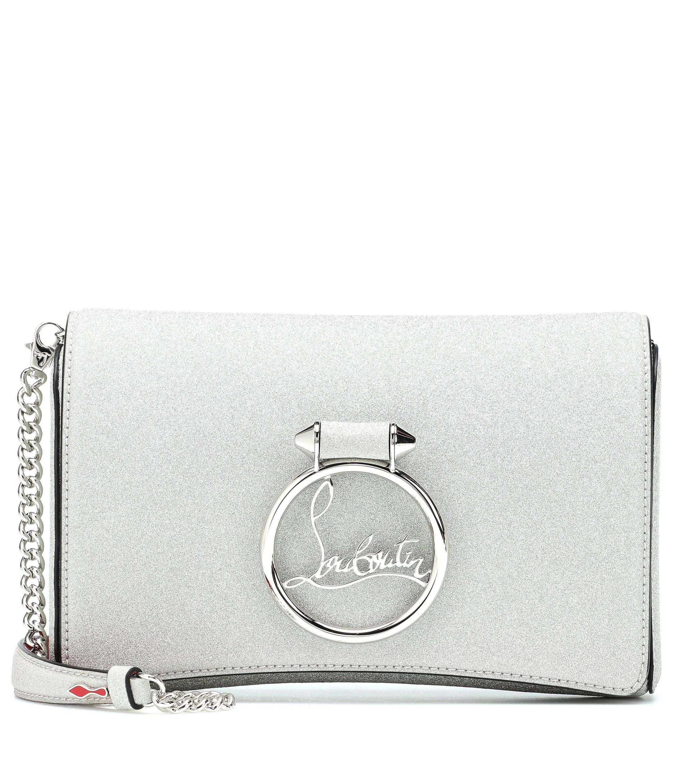 85a92c9ab4f5 Christian Louboutin. Women s Rubylou Glitter Crossbody Bag