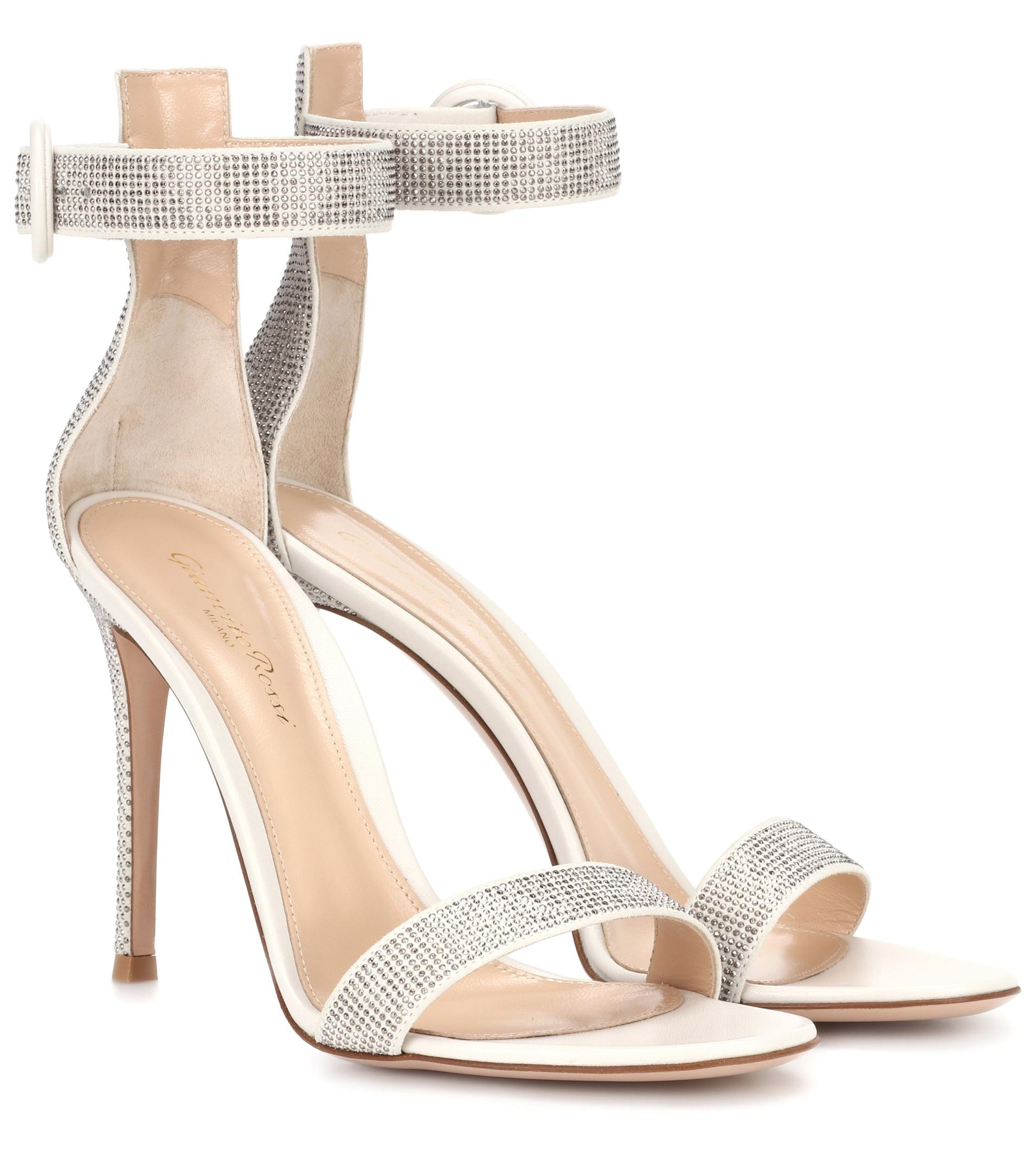 Gianvito Rossi Hailee suede sandals low cost online qSf6v