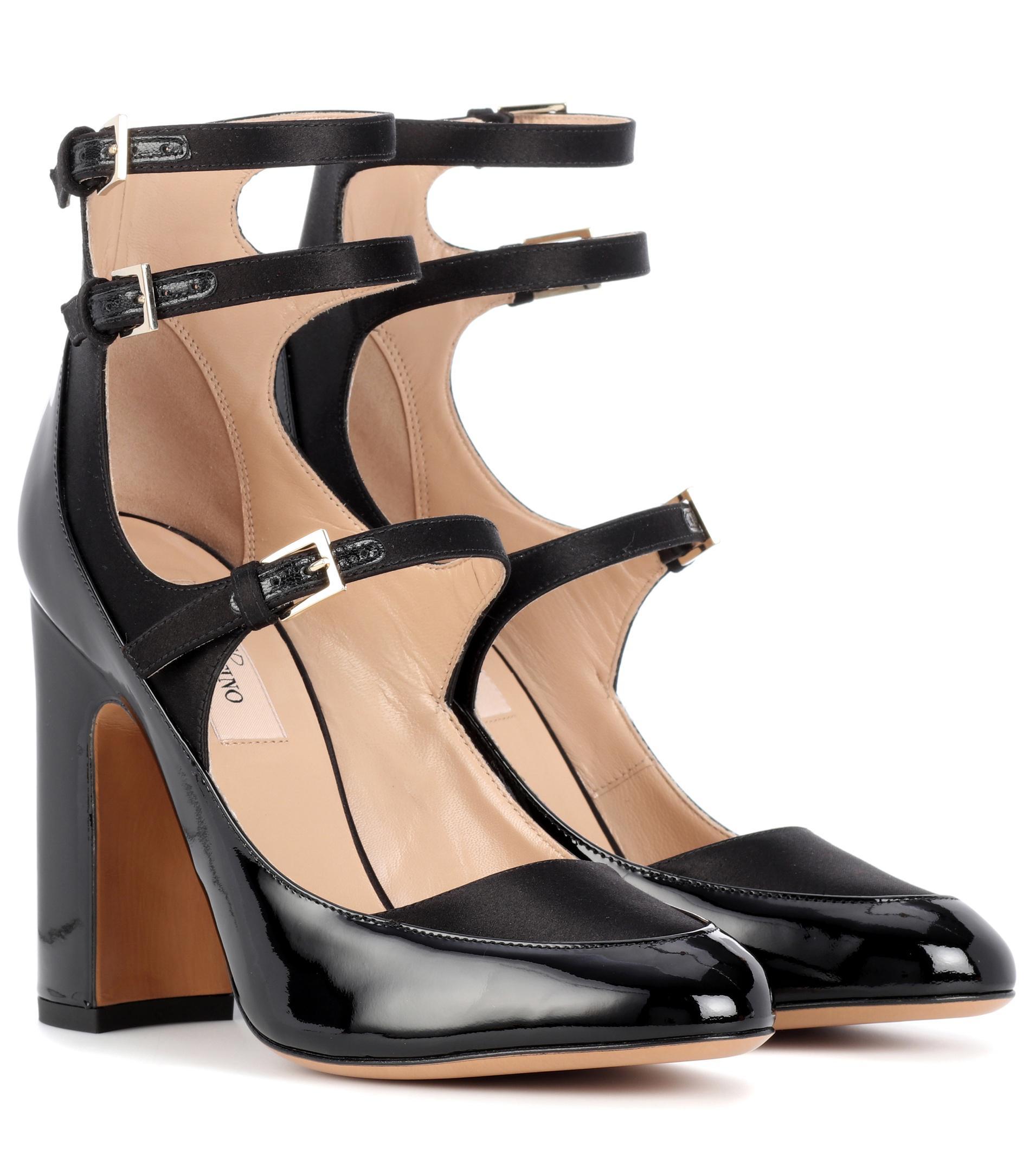 Valentino Garavani patent leather and satin pumps ZsIyZy3