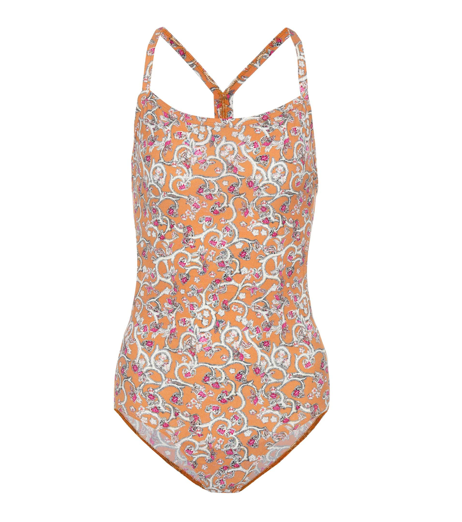 Seeley printed swimsuit Isabel Marant