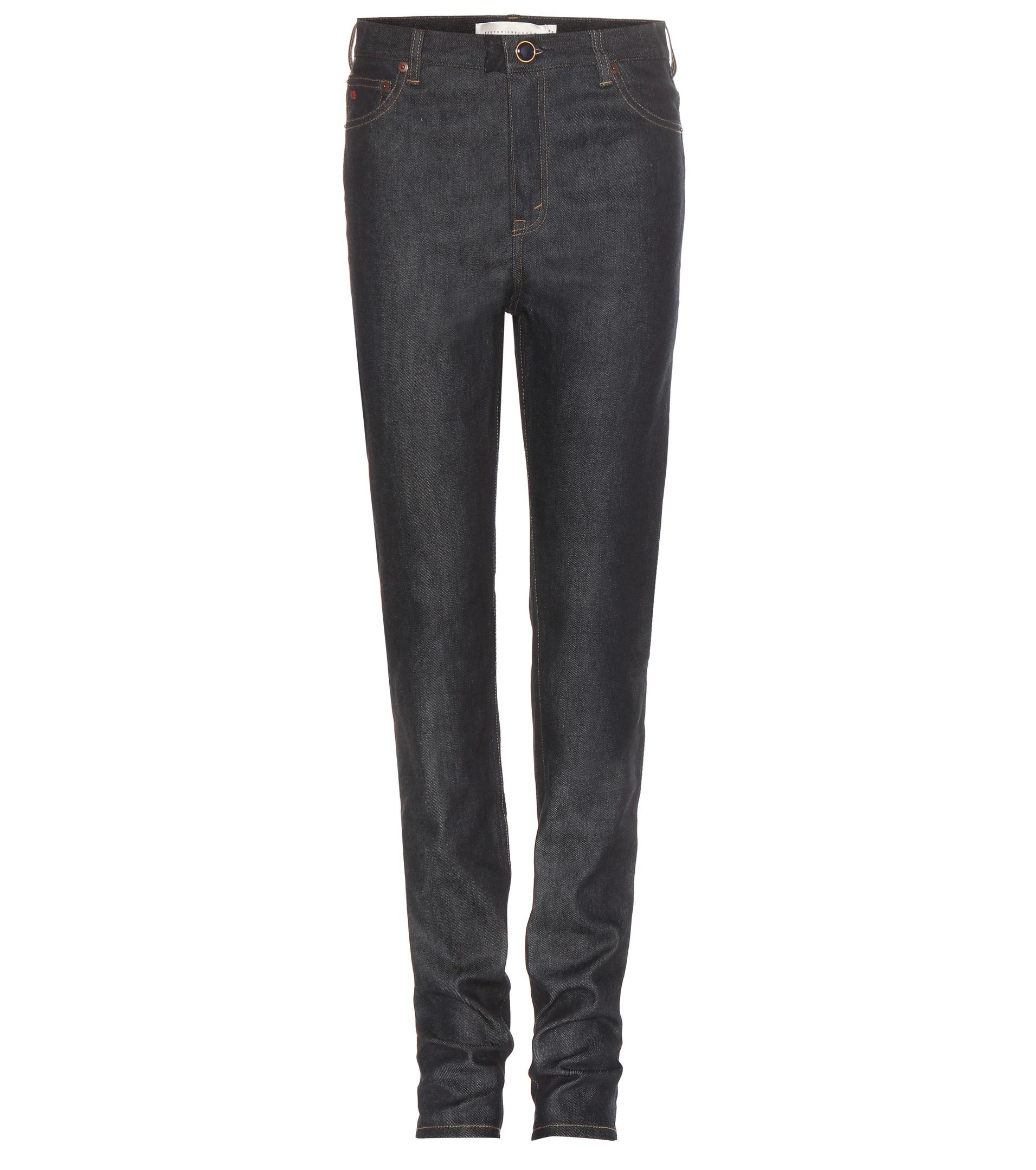 Free Shipping Genuine Sale 2018 Unisex High-waisted Slim jeans Victoria Beckham Footlocker Pictures Online Clearance Outlet Locations Buy Cheap Latest XwGRQxz