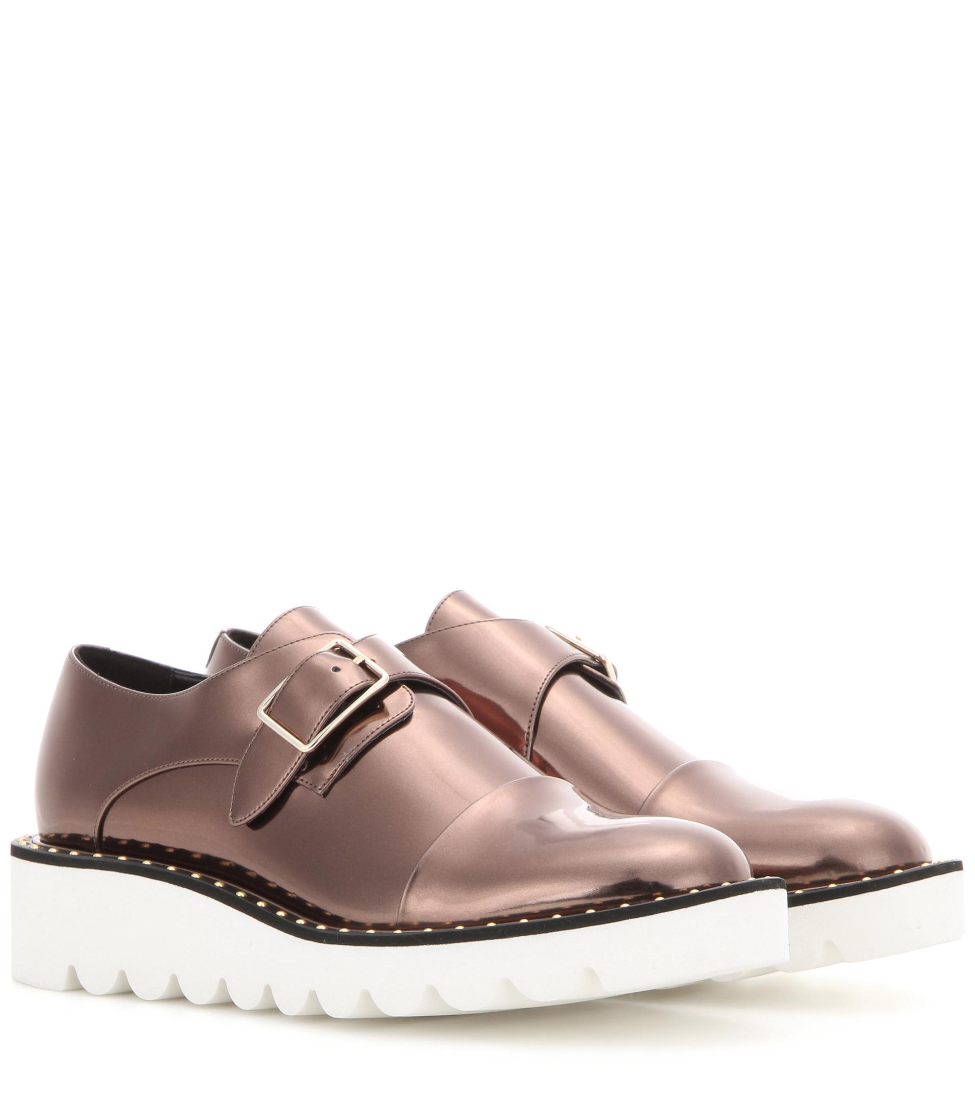 Odette metallic monk shoes Stella McCartney sAT8sN