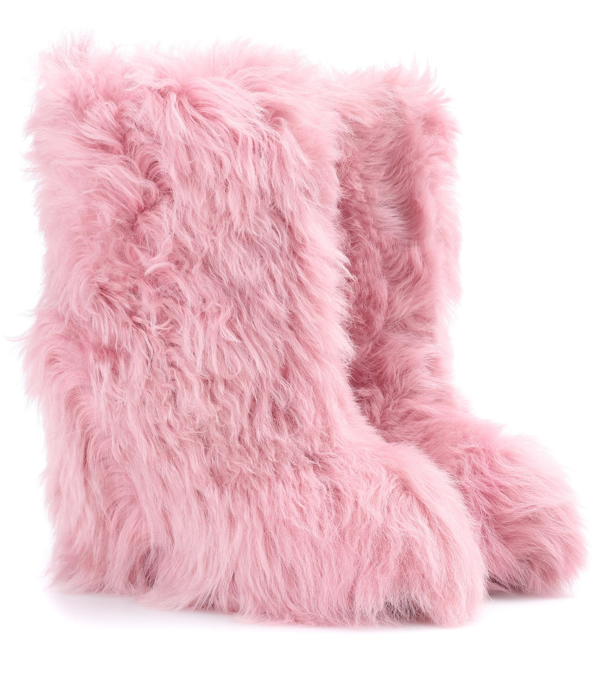ce0520f8d5f3 Lyst - Moncler Grenoble Exclusive To Mytheresa. Com – Shearling ...