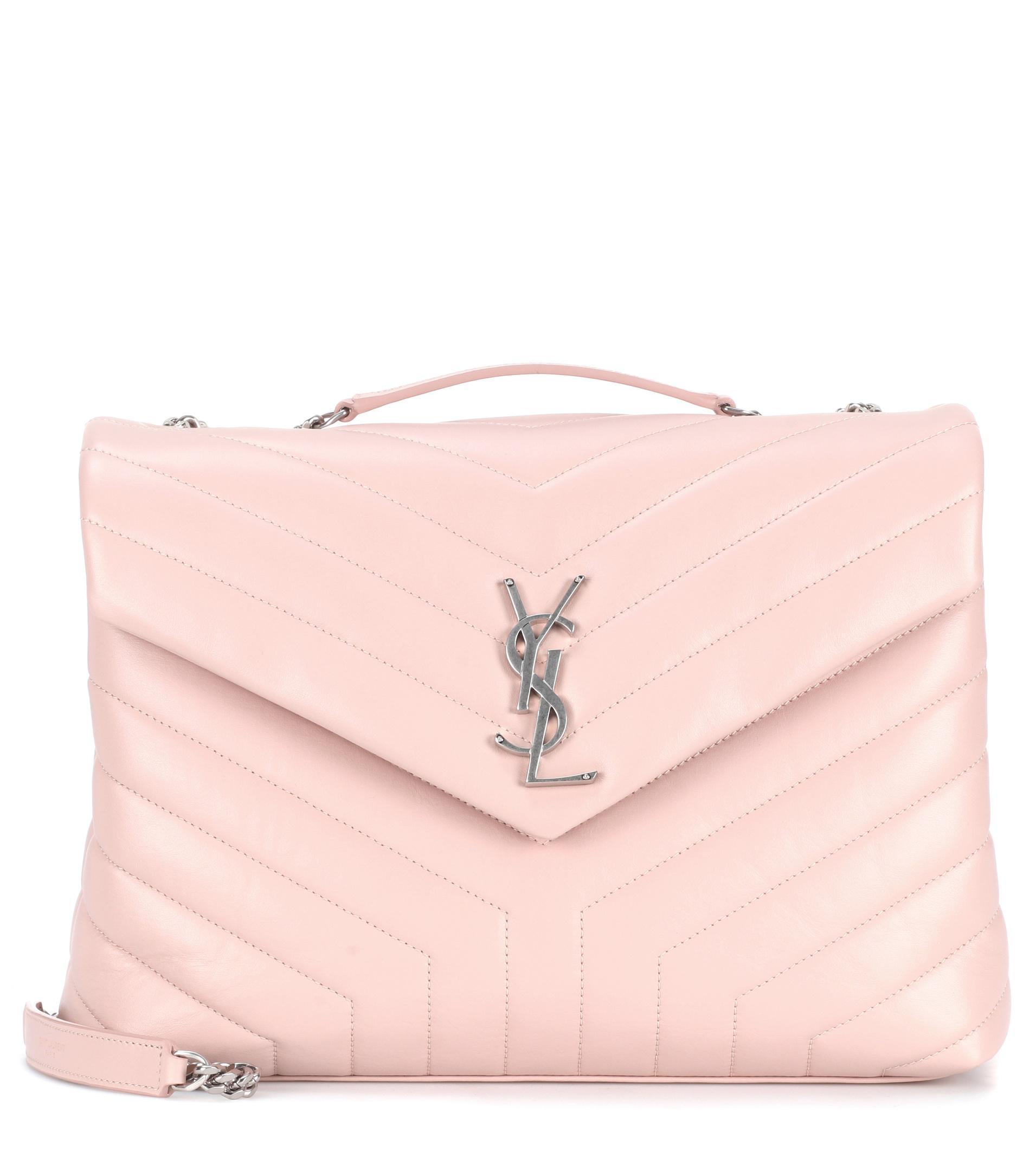 Pink Loulou Monogram Mini Bag - Pink & Purple Saint Laurent sY5Yj