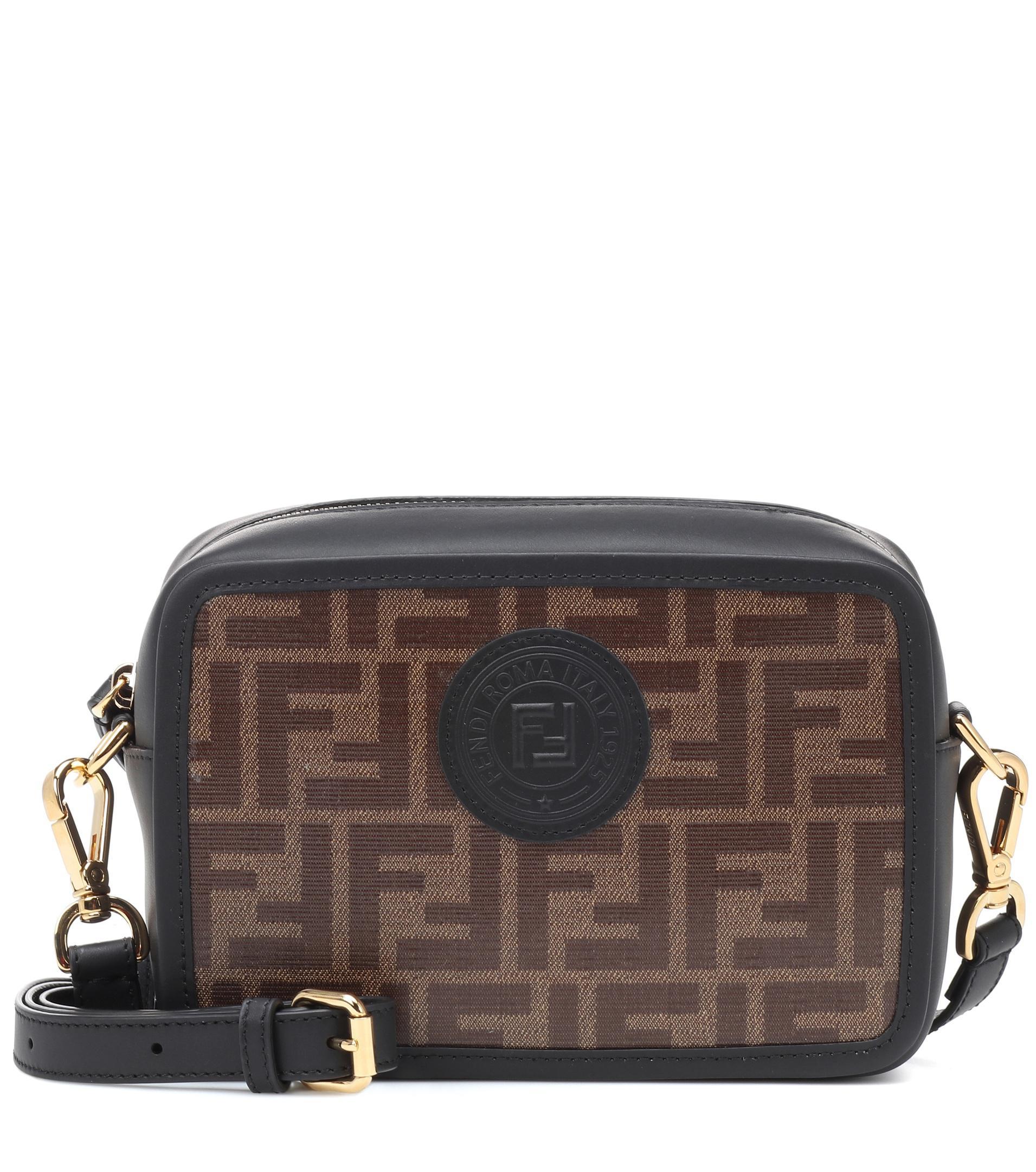 3692dfecf1ad Fendi Mini Logo Camera Bag in Brown - Save 3.4782608695652186% - Lyst