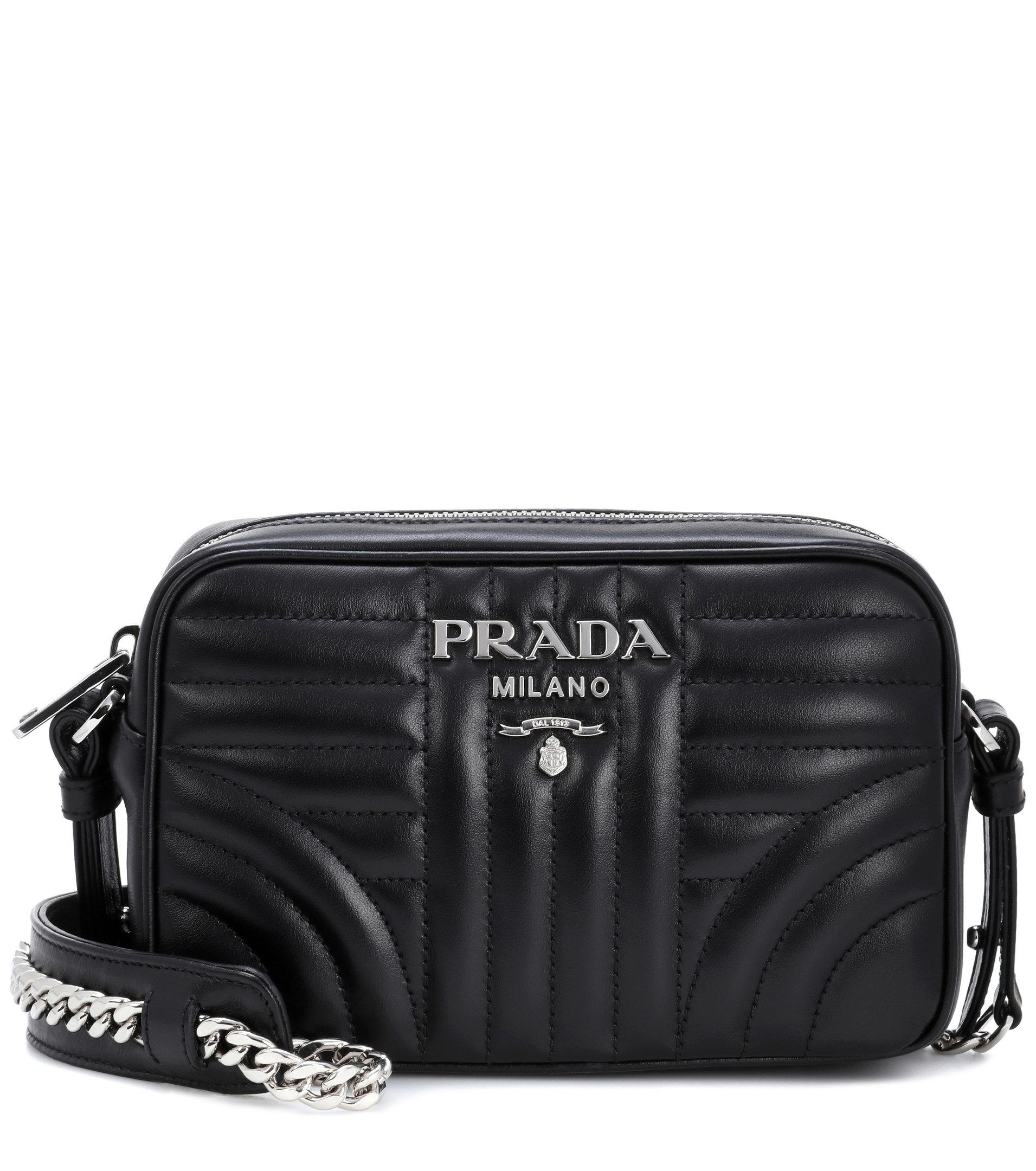 c0de14627 Prada Black Diagramme Leather Cross Body Bag | Stanford Center for ...