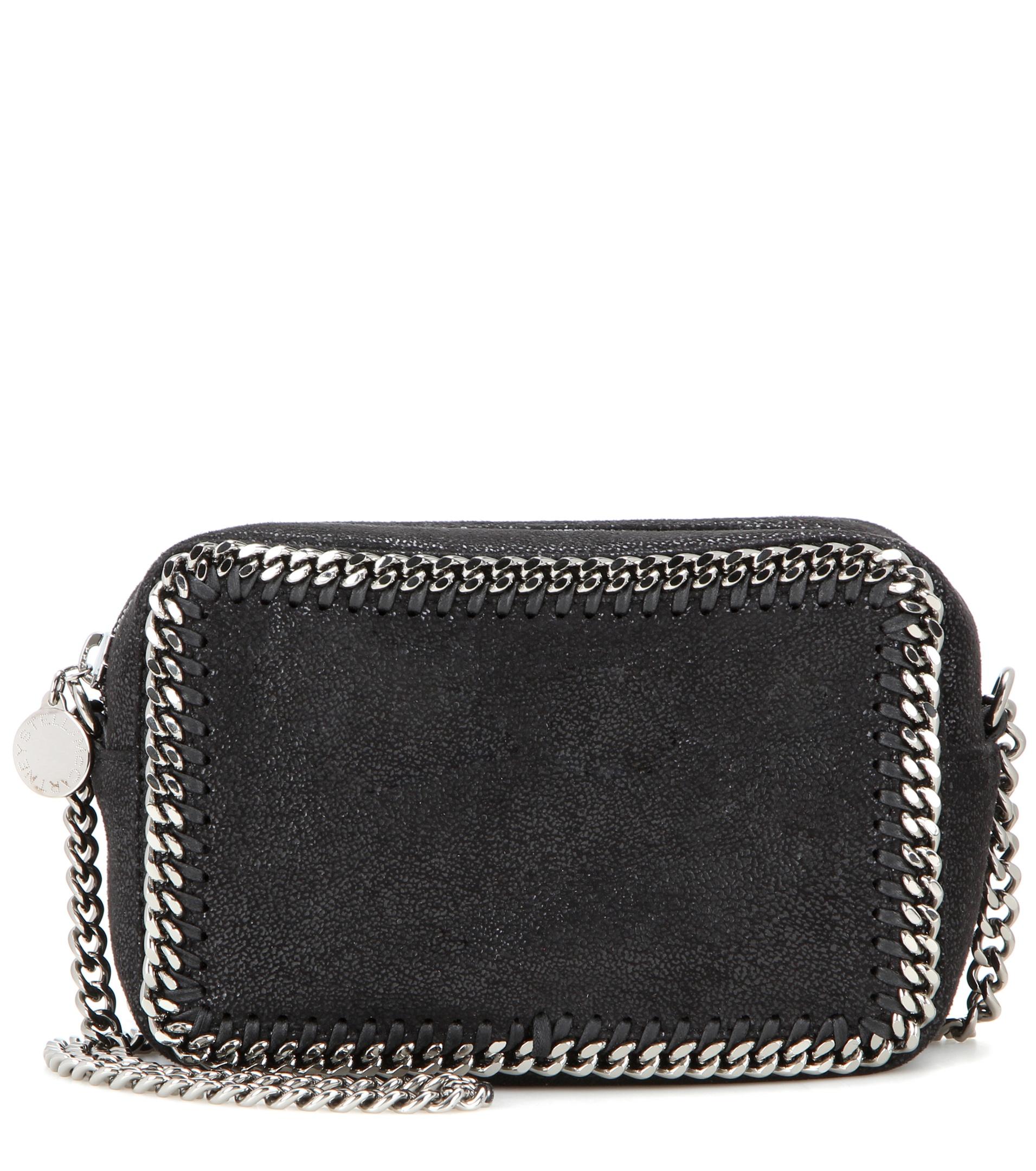 stella mccartney shoulder bag in black lyst. Black Bedroom Furniture Sets. Home Design Ideas