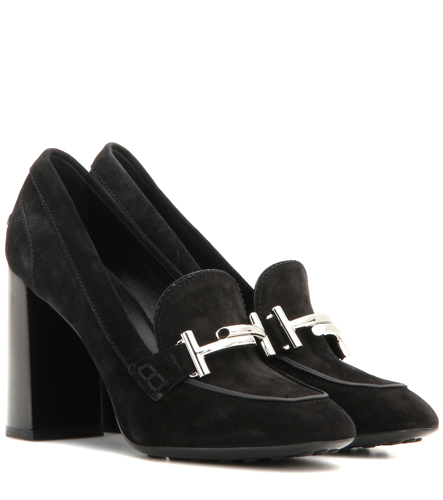 Stylishly practical and comfortably cutting-edge, loafer pumps work just as well with a pair of slim, cuffed jeans and a button-down as they do with a little black dress and chunky accessories.