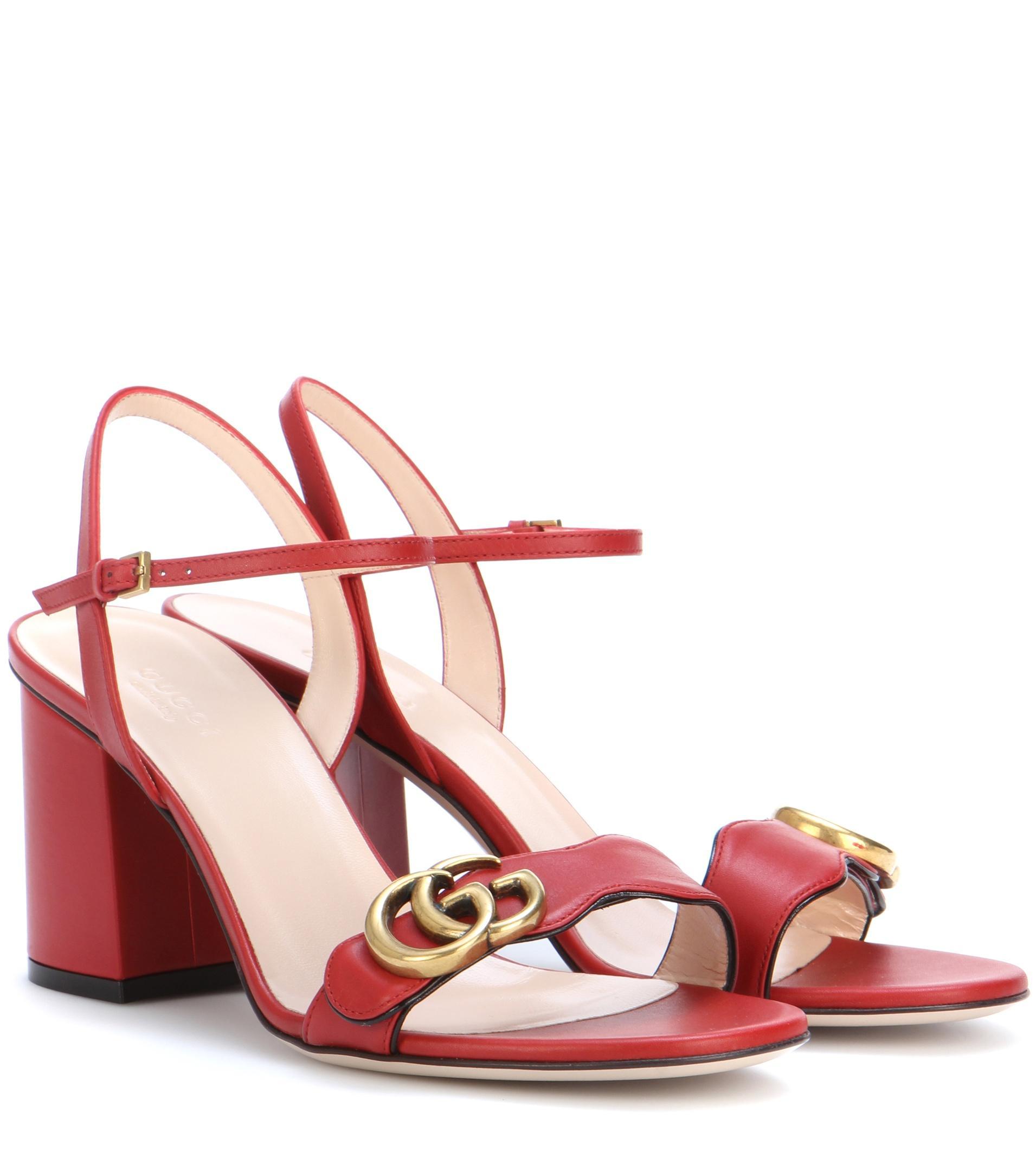 fde38d786fa Gucci Webby Sandal Sale.Gucci Webby Galvanized Heel Leather Mule ...