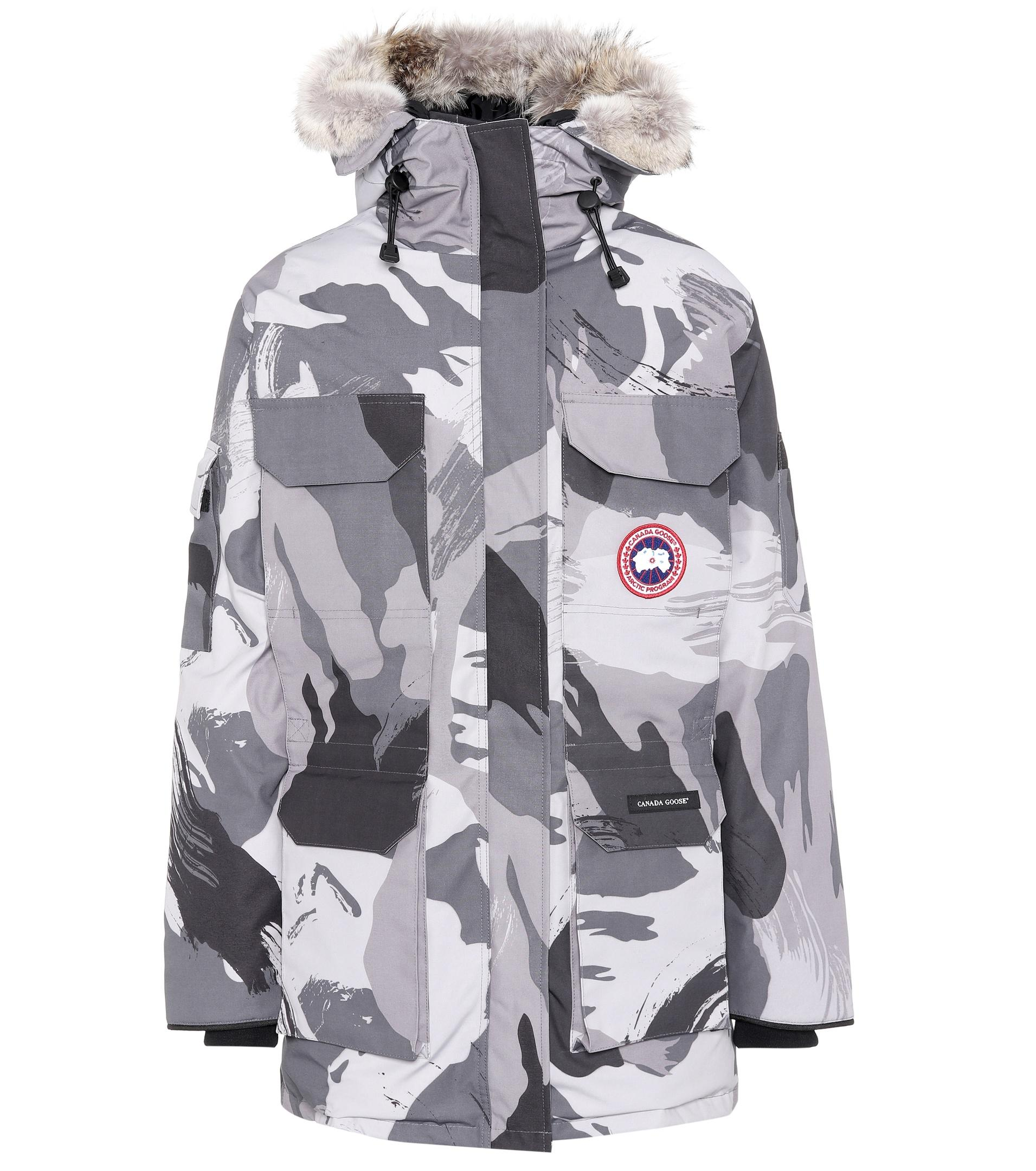 canada goose Bombers Abstract Blue Camo