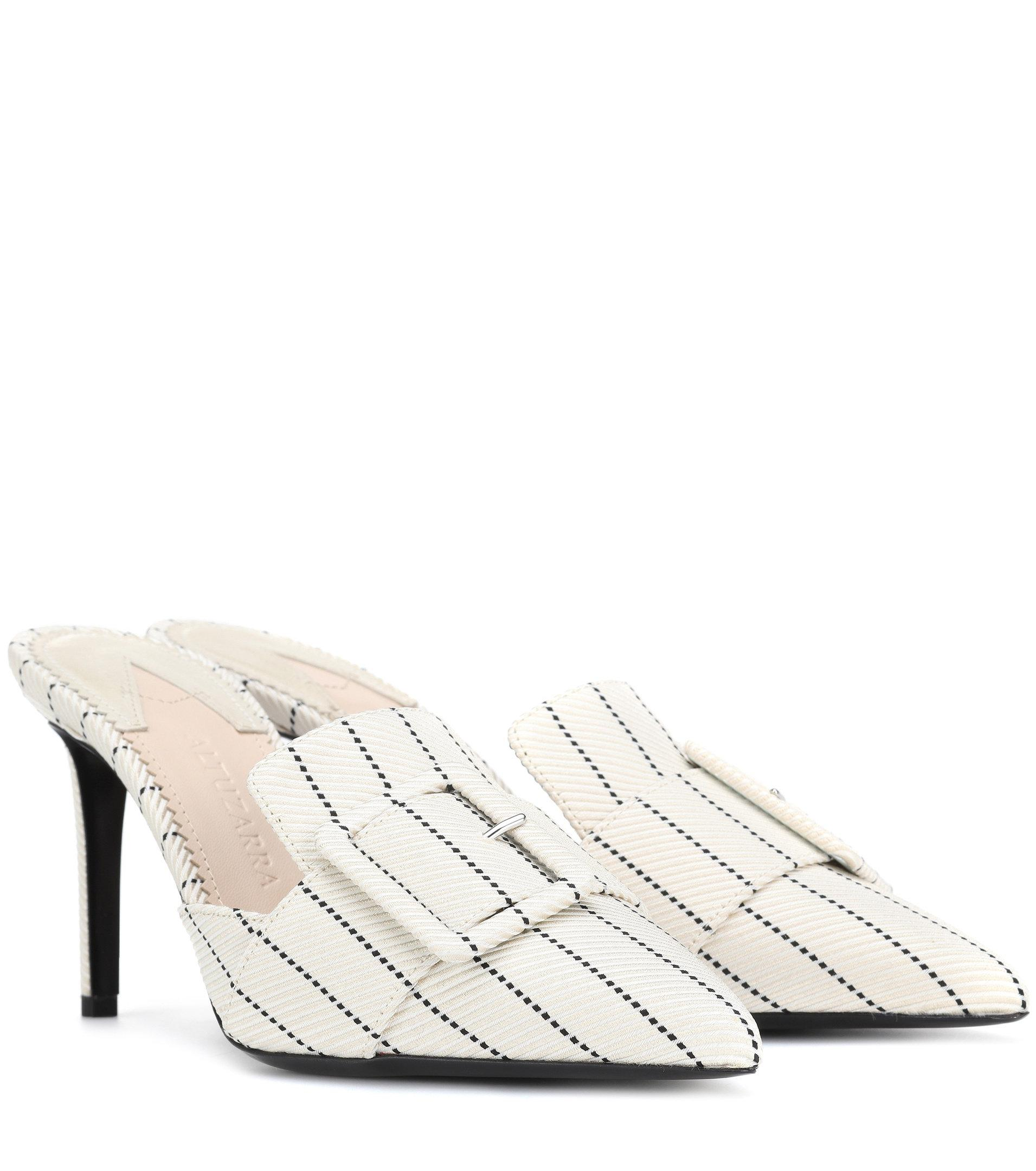 Altuzarra Izy striped mules