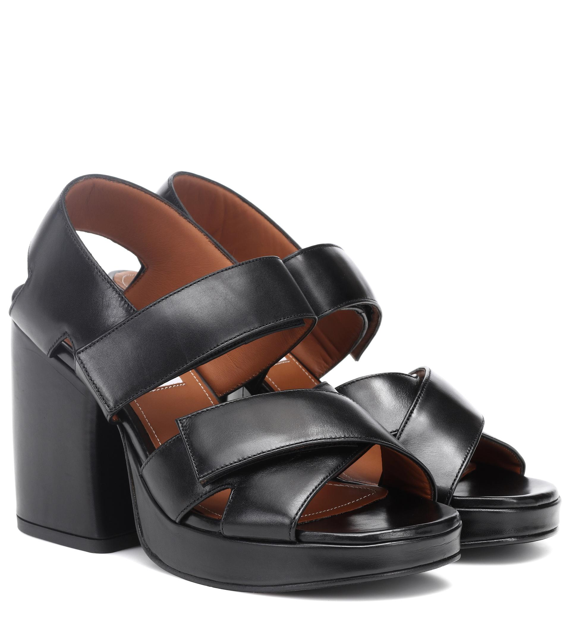 Kenzo Aori leather sandals HskLrAW