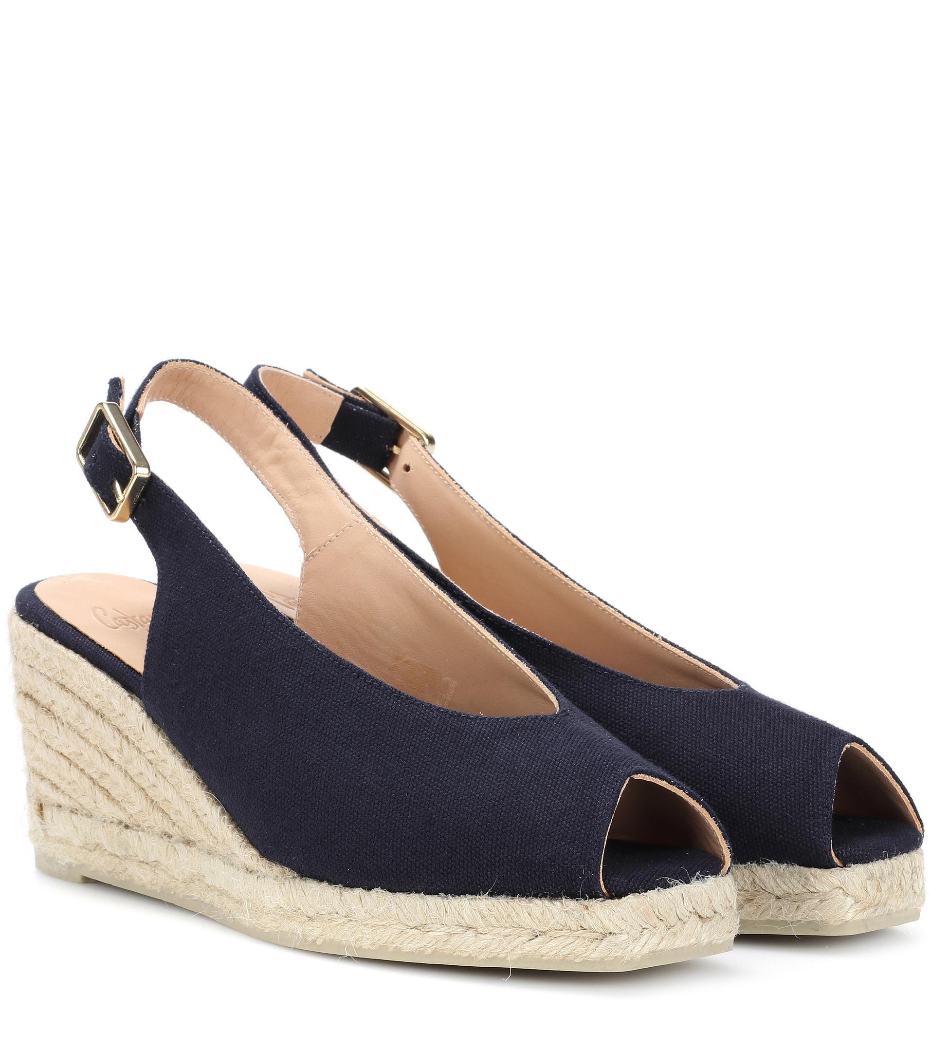 Castaner Cotton Crossed Sandals Original j70iLPcC6s