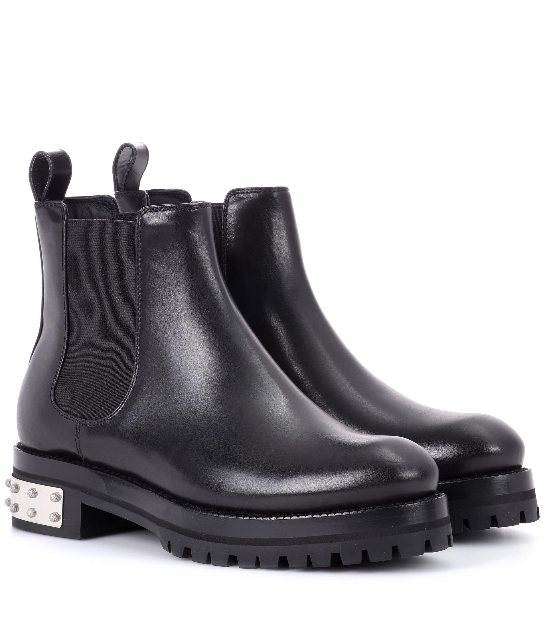 Chelsea boots - Black Alexander McQueen Cheap Sale Shop Exclusive For Sale Discount 100% Original Discount View V0jqtMCN
