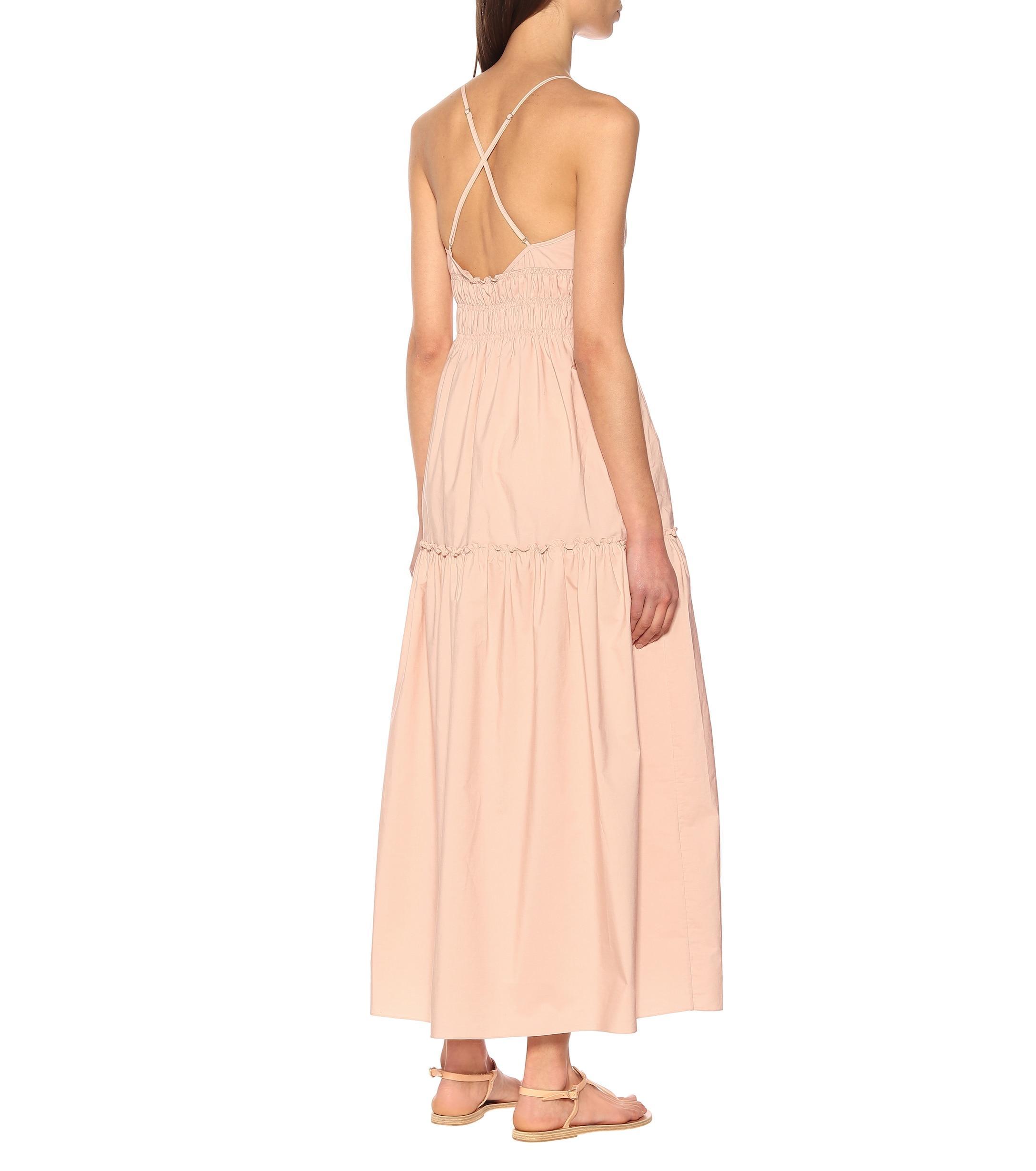 Cotton Emma Three London Dress Pink Lyst In Graces qRw1S