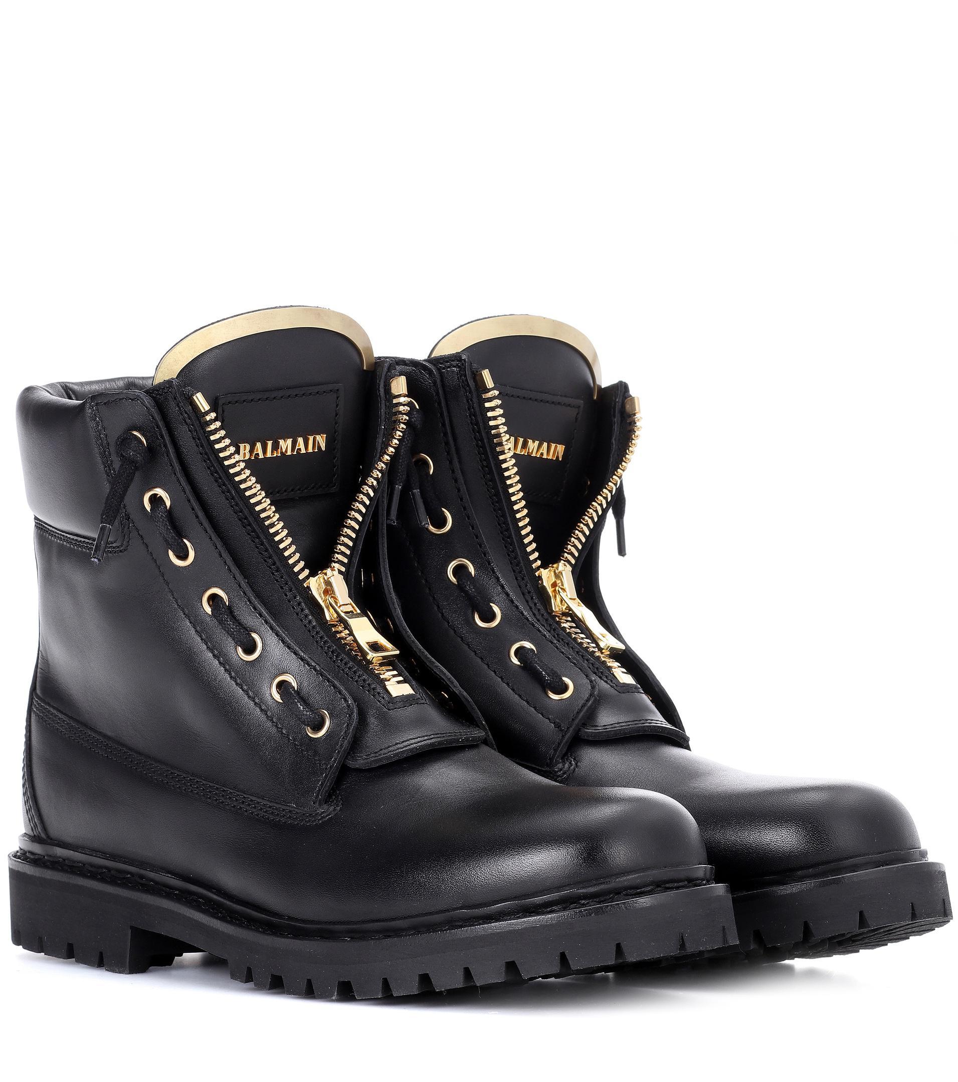 Nicekicks Pas Cher En Ligne Style De Mode Rabais Balmain Boots à Lacets Sortie Combien lpjzsbmB
