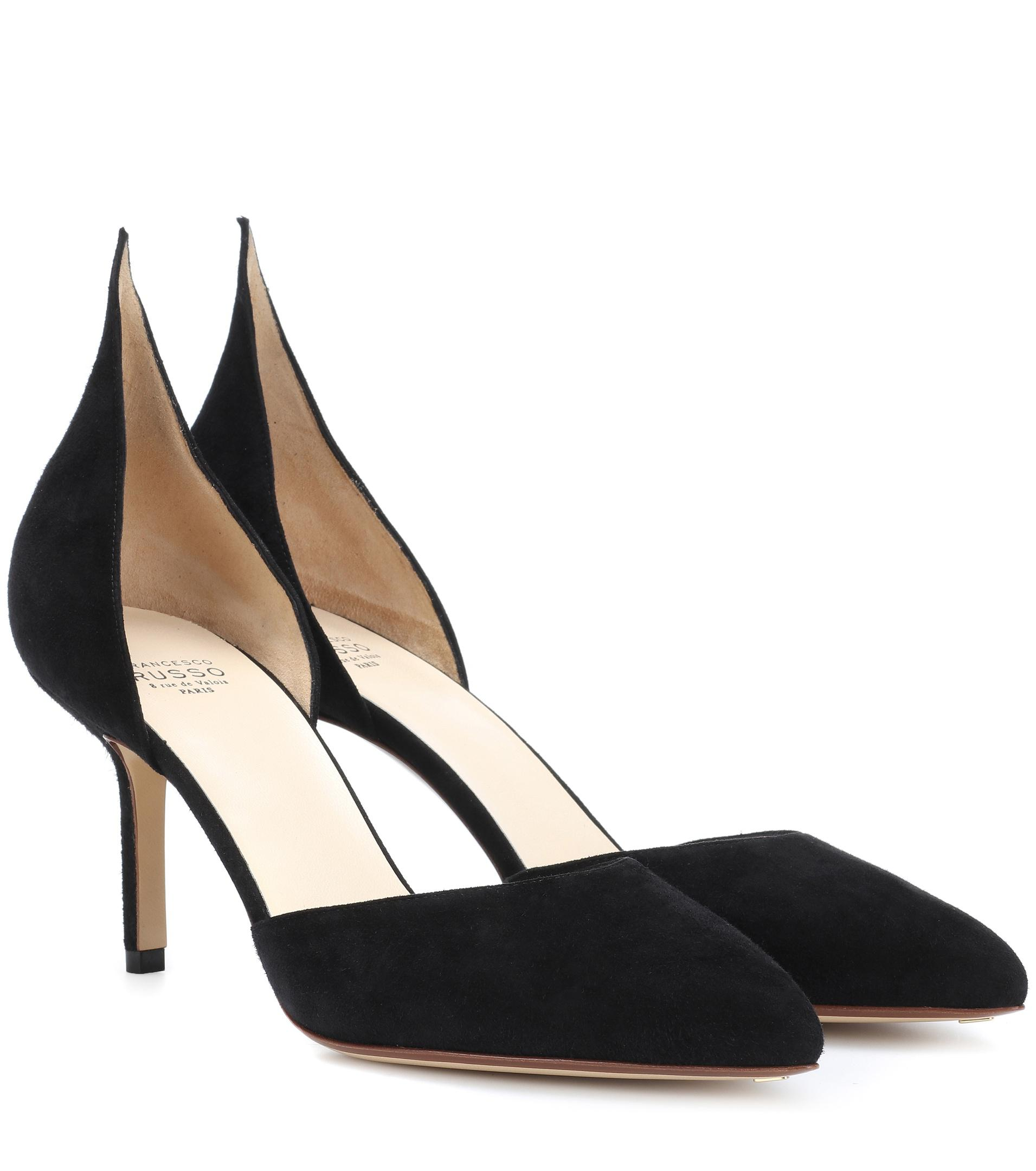 pointed high-heel pumps - Black Francesco Russo sOdXv
