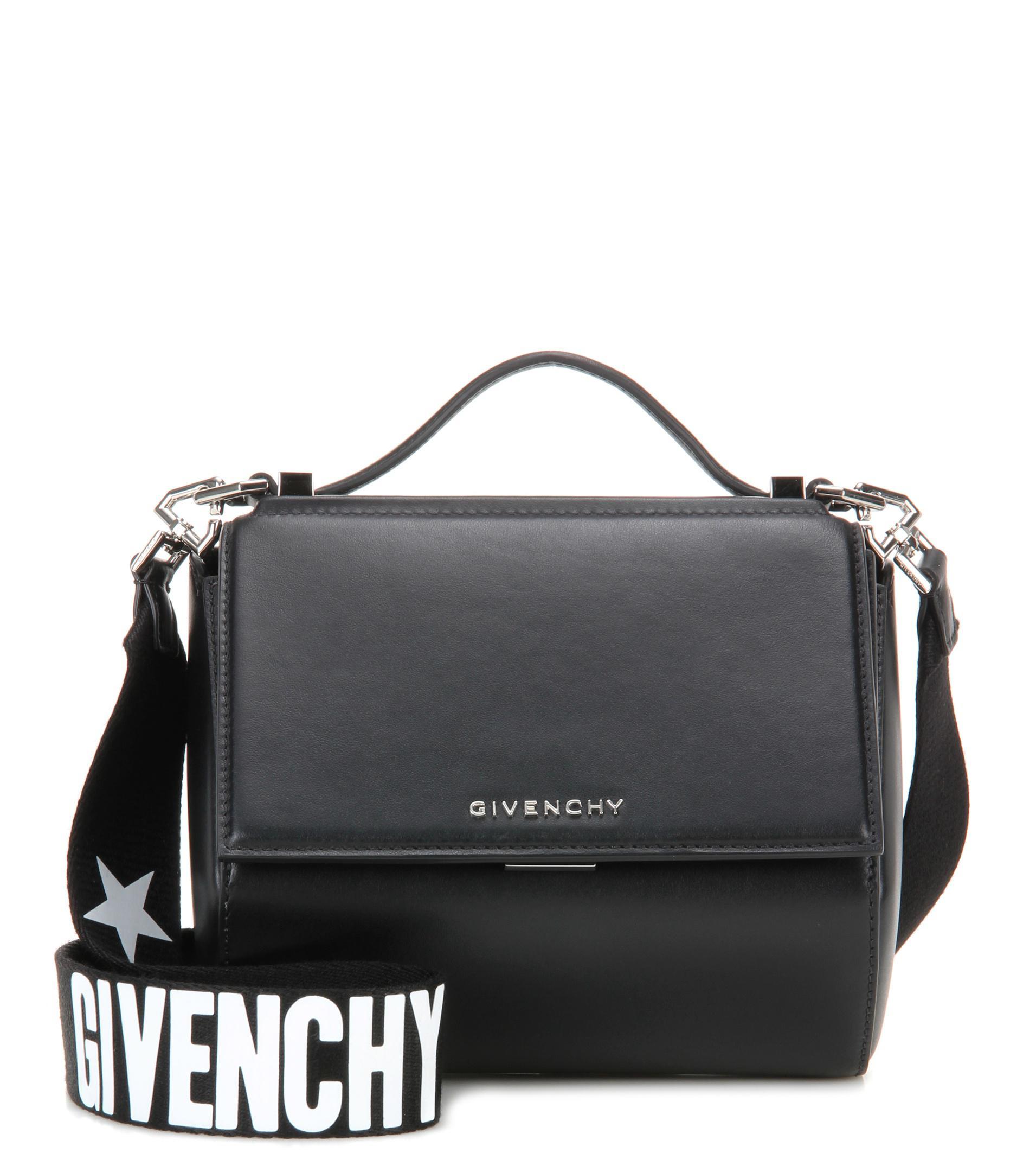 774e5fc7342 Lyst - Sac à bandoulière en cuir Pandora Box Mini Givenchy en ...