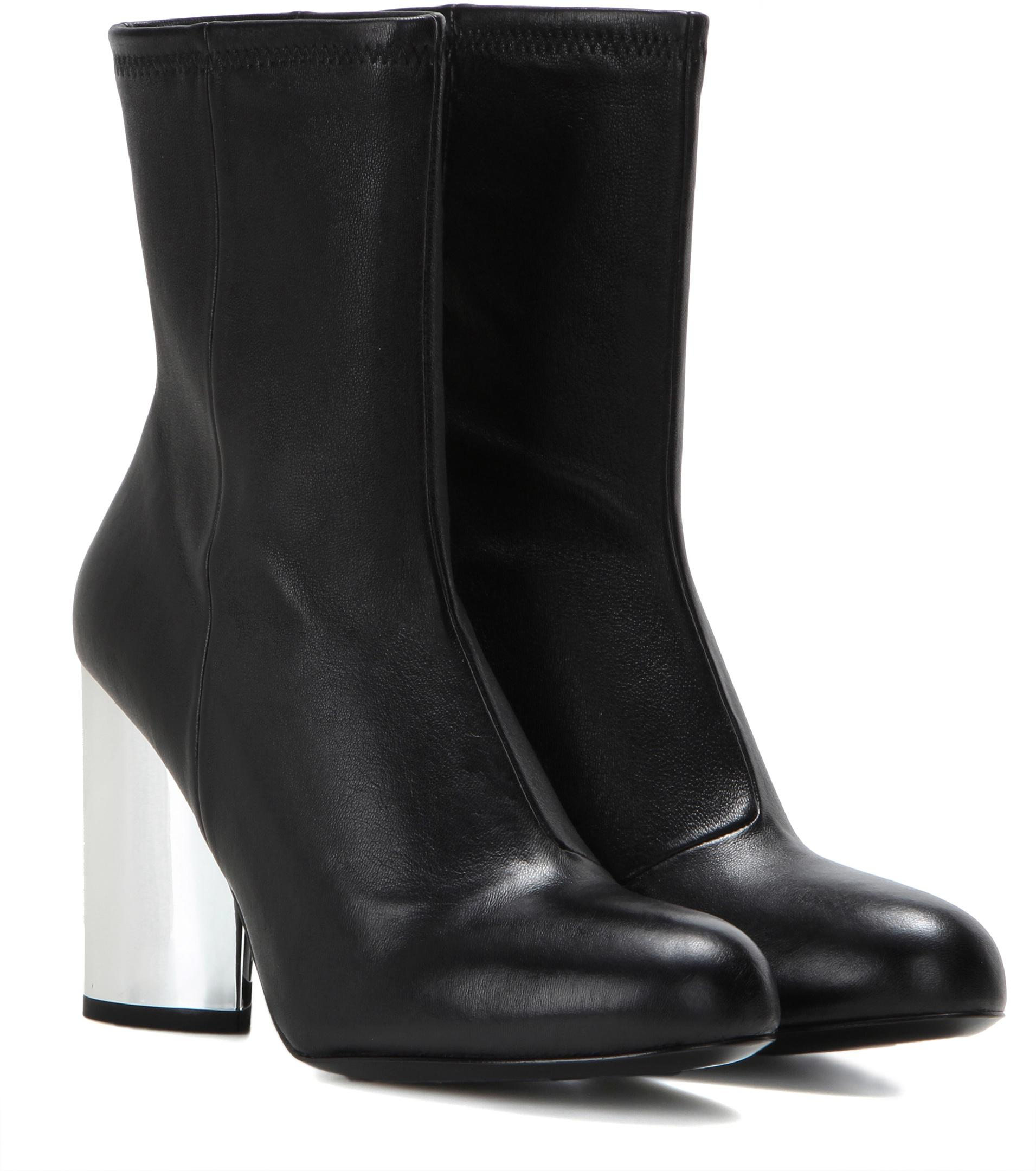 Chloé Black Satin Dylan Boots iliPO